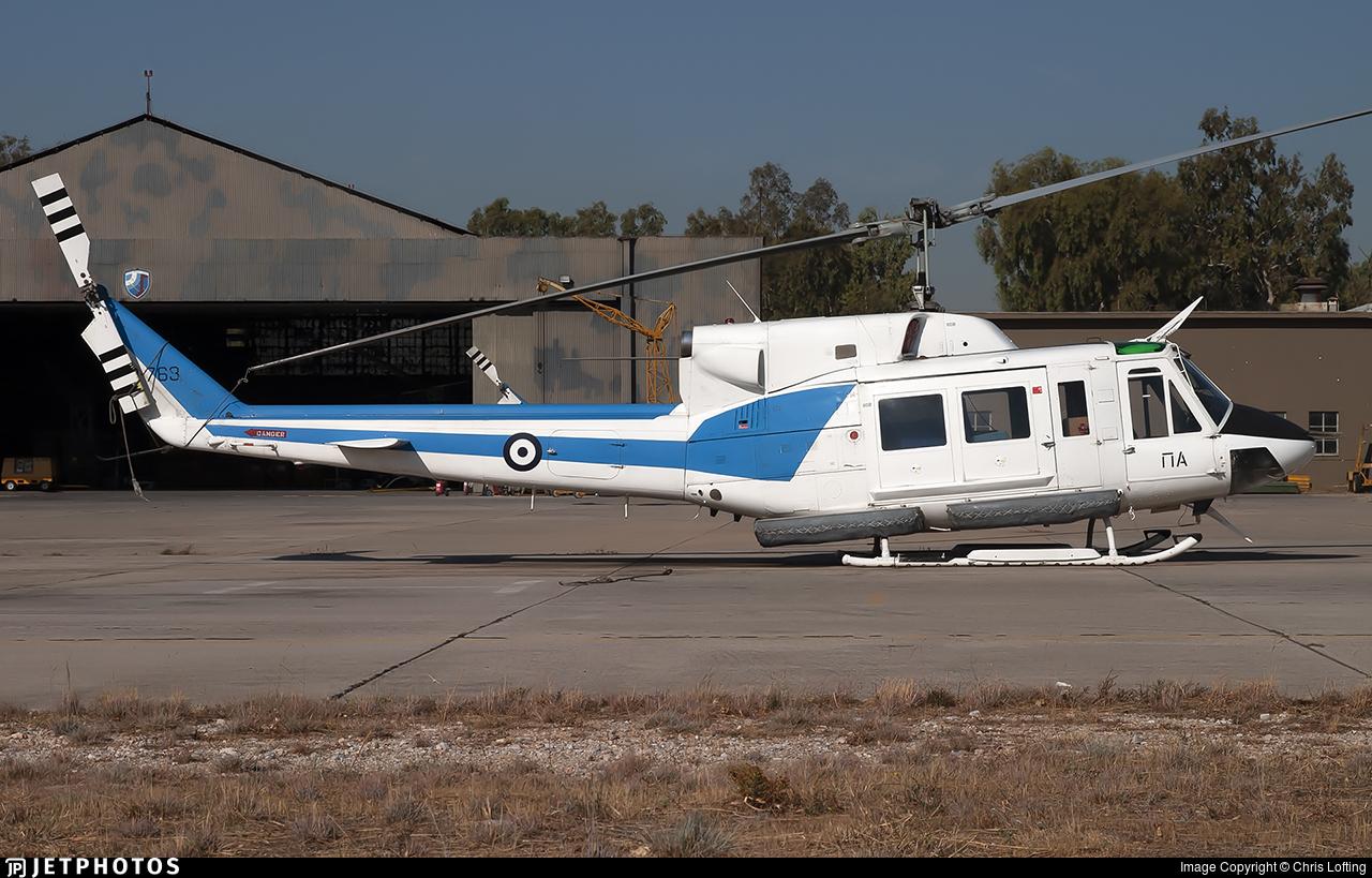 30-763 - Bell 212 - Greece - Air Force