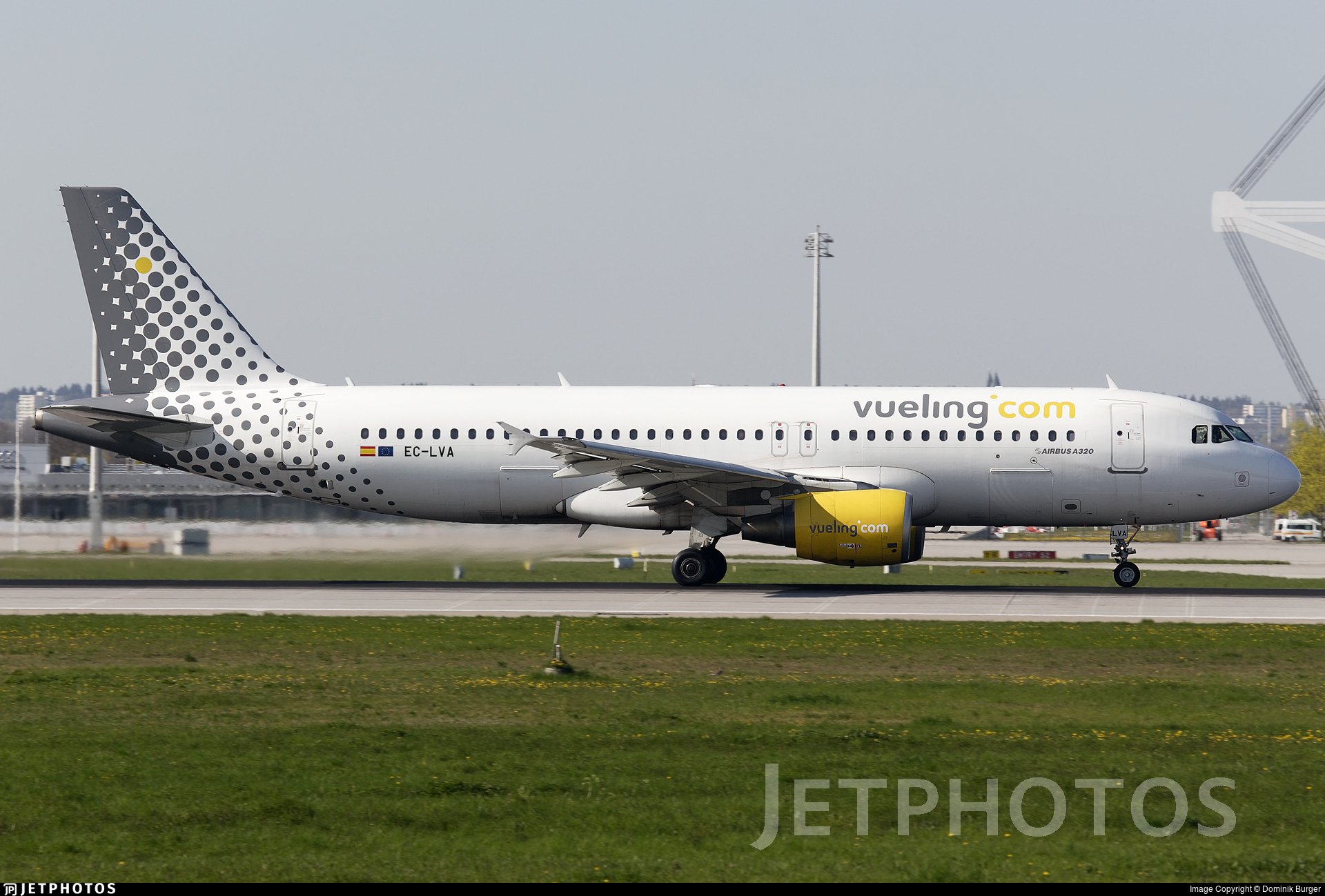 EC-LVA - Airbus A320-214 - Vueling