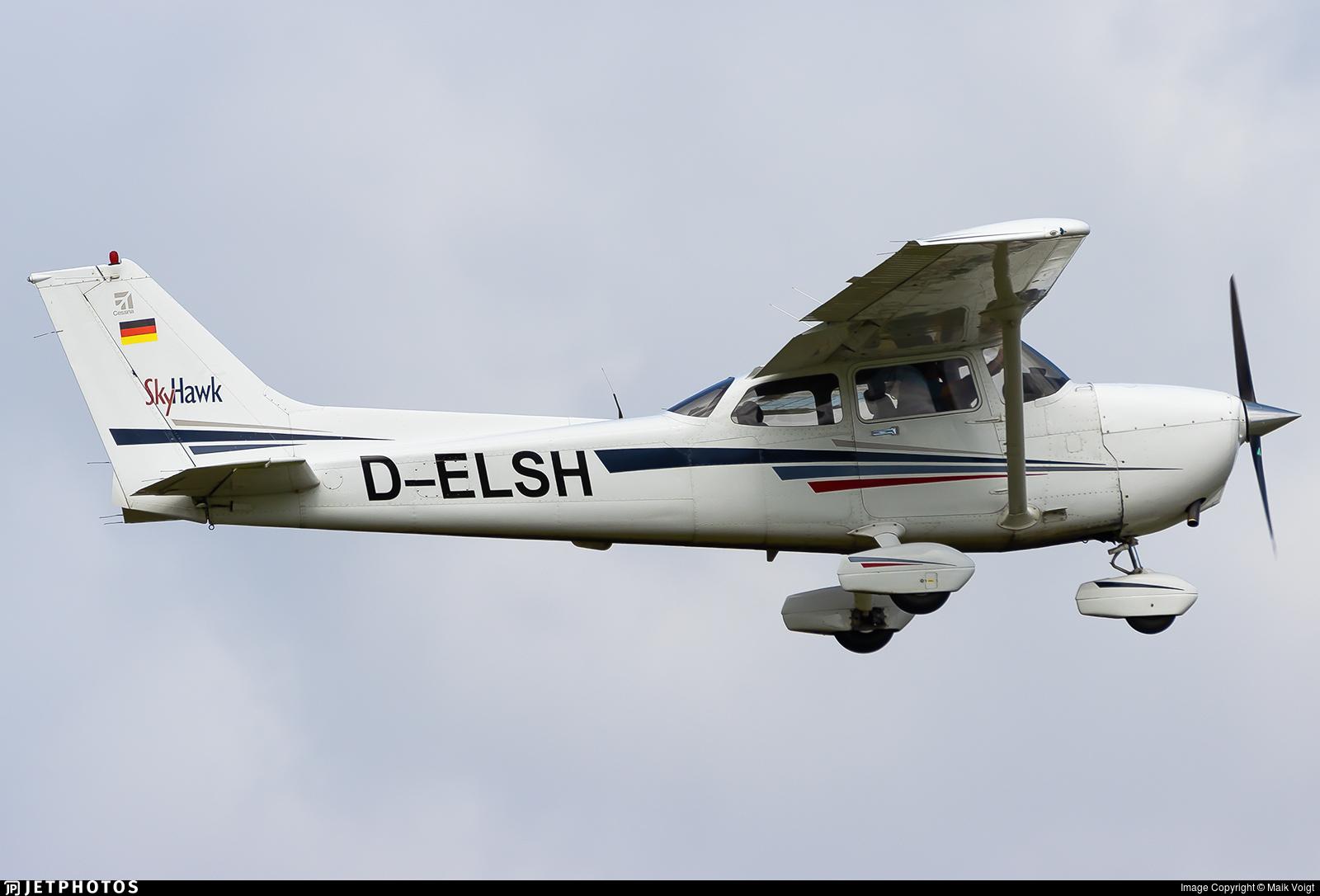 D-ELSH - Cessna 172S Skyhawk SP - LSG Südwest Herten-Rheinfelden