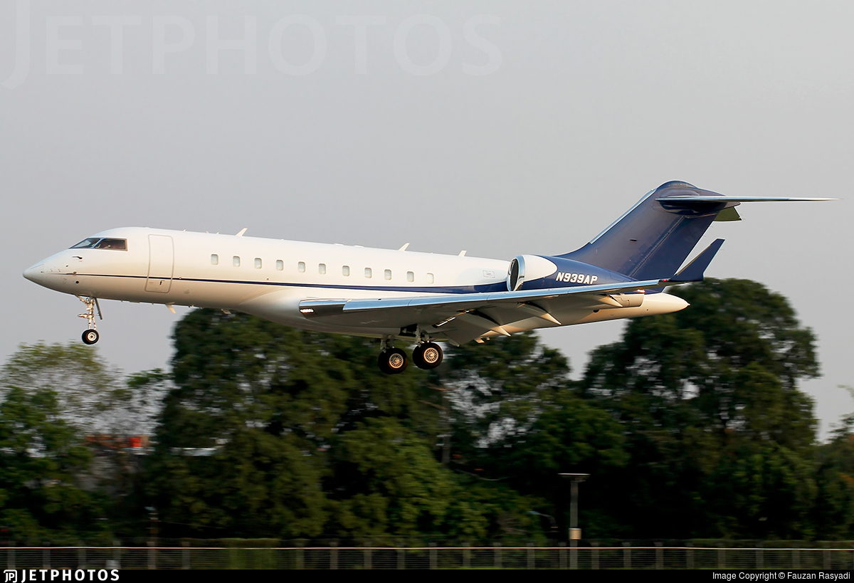 N939AP - Bombardier BD-700-1A11 Global 5000 - Private