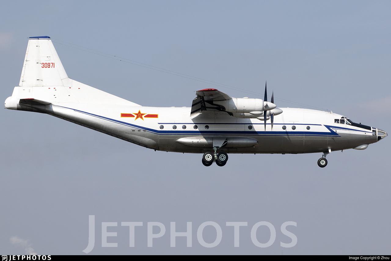 30971 - Shaanxi Y-8C - China - Air Force