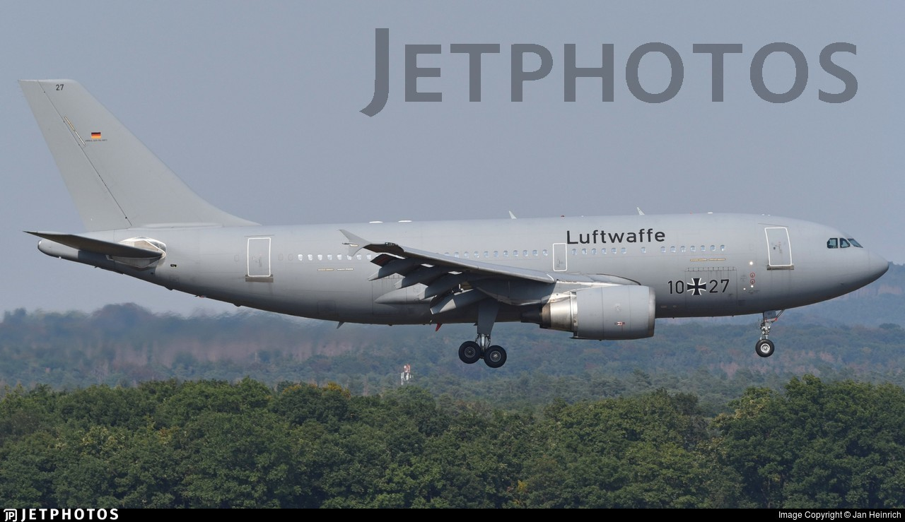10-27 - Airbus A310-304 - Germany - Air Force
