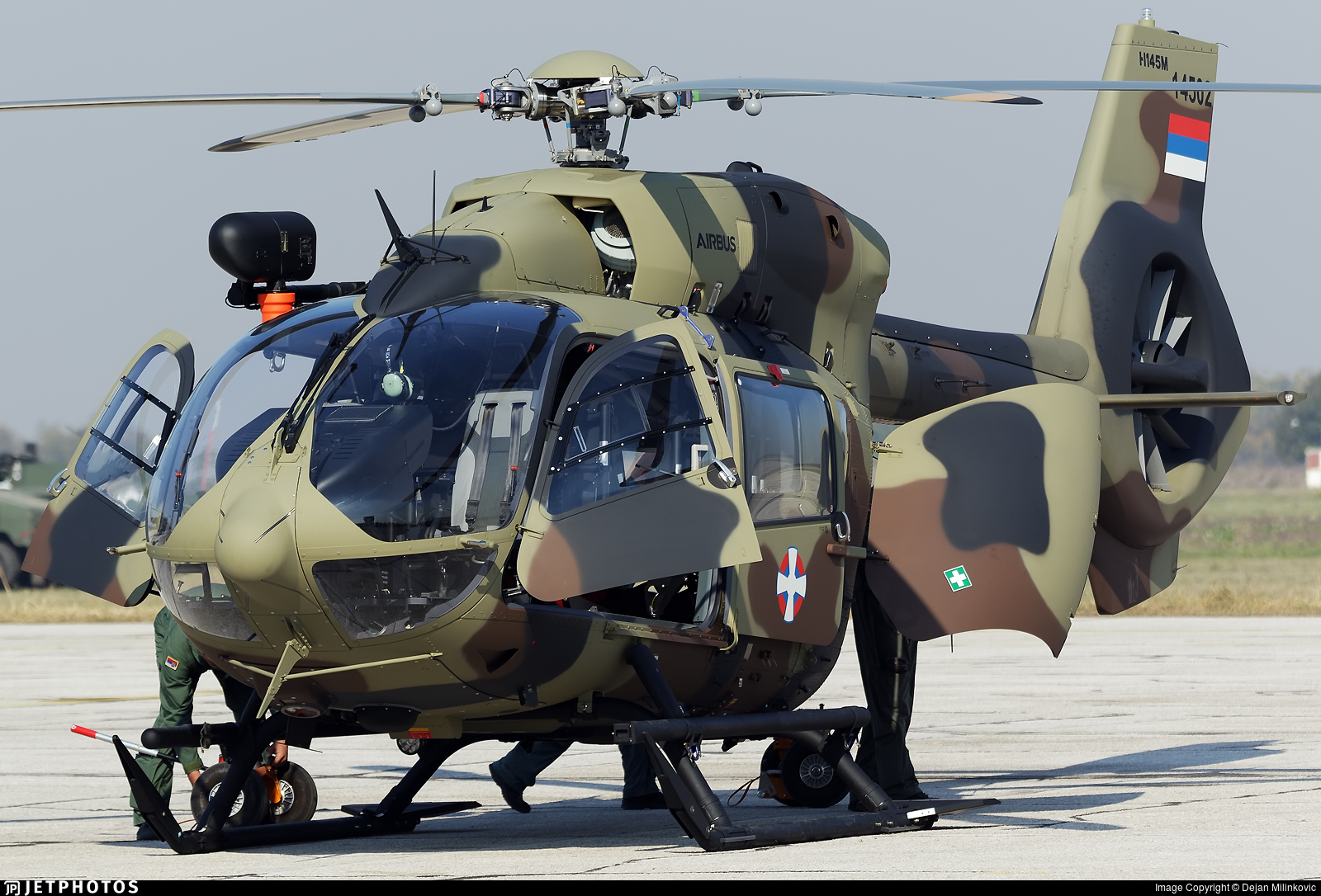 14502 - Airbus Helicopters H145M - Serbia - Air Force