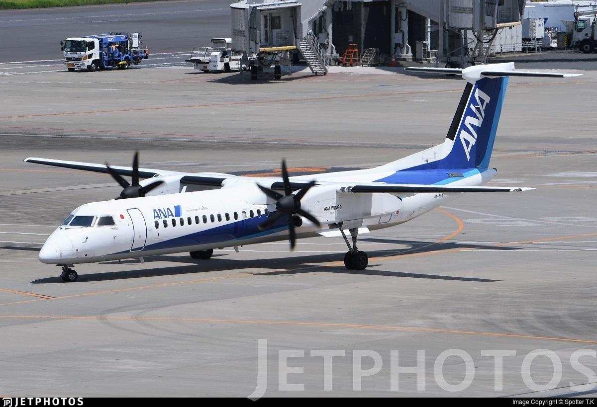 JA460A - Bombardier Dash 8-Q402 - ANA Wings