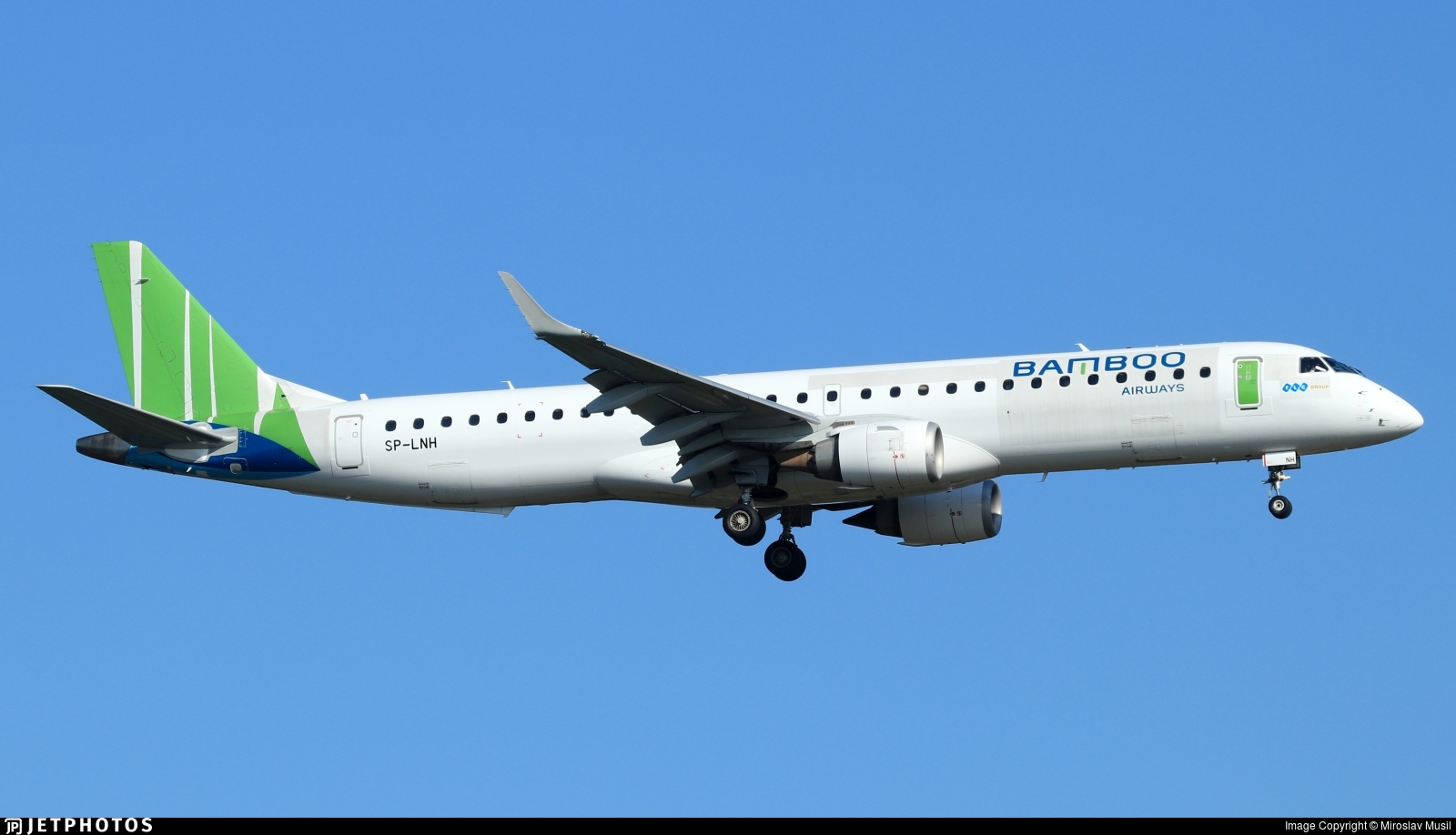 SP-LNH - Embraer 190-200IGW - Bamboo Airways (LOT Polish Airlines)