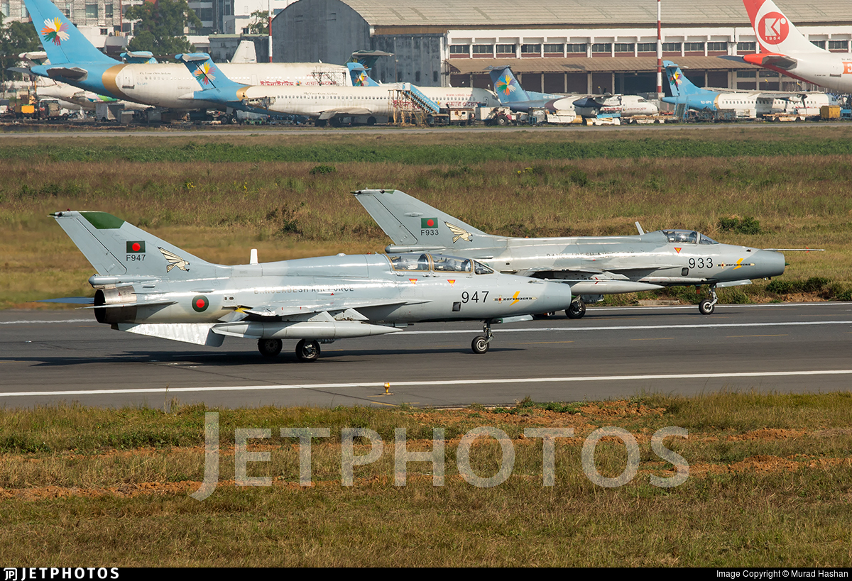F947 - Chengdu FT-7BG - Bangladesh - Air Force
