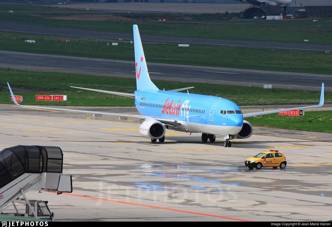 OO-JAF - Boeing 737-8K5 - Jetairfly