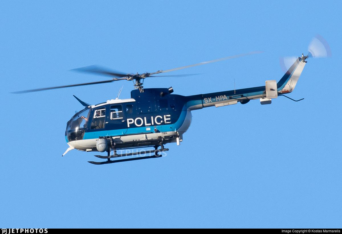 SX-HPA - MBB Bo105CBS-5 - Greece - Police