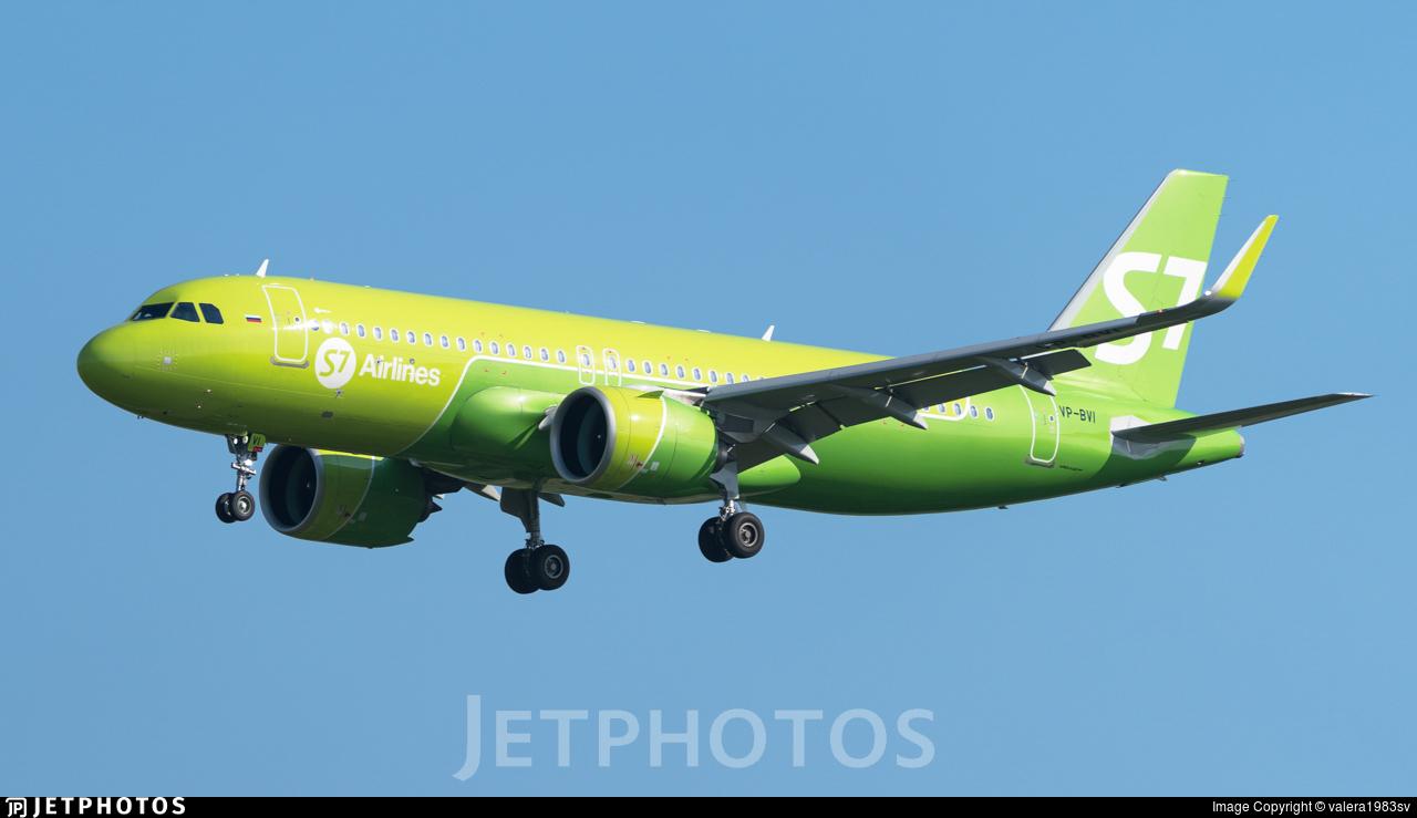 VP-BVI - Airbus A320-271N - S7 Airlines