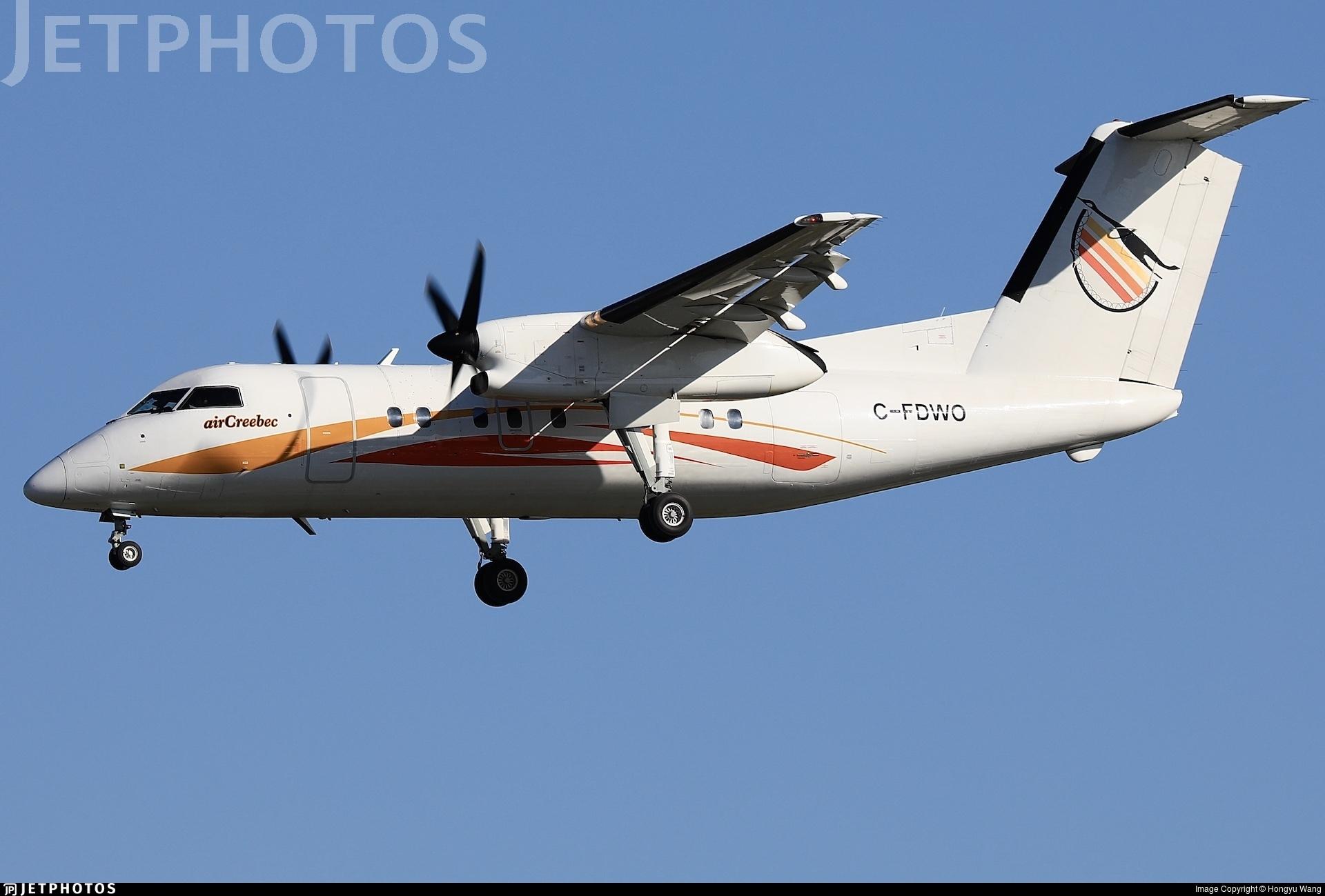 C-FDWO - Bombardier Dash 8-106 - Air Creebec
