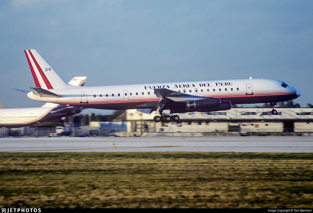 370 - Douglas DC-8-62(CF) - Perú - Air Force
