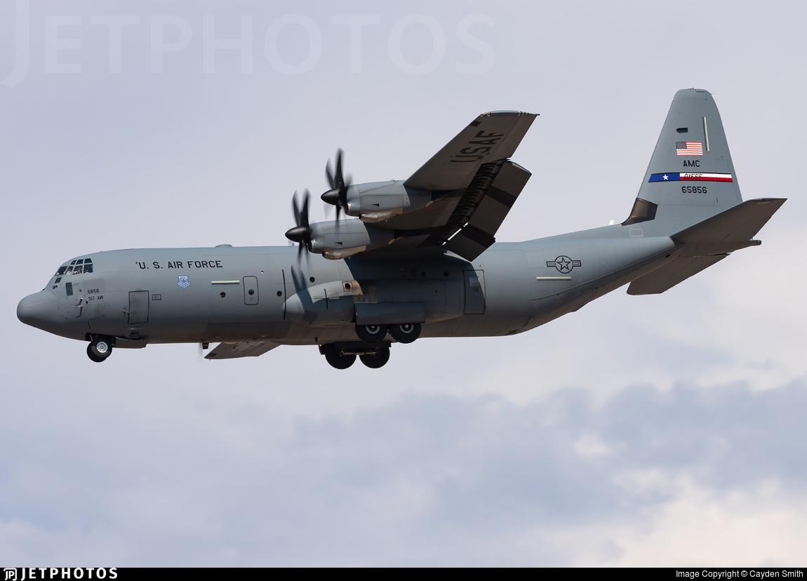 16-5856 - Lockheed Martin C-130J-30 Hercules - United States - US Air Force (USAF)
