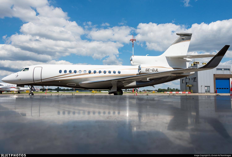 SE-DJL - Dassault Falcon 7X - TAG Aviation