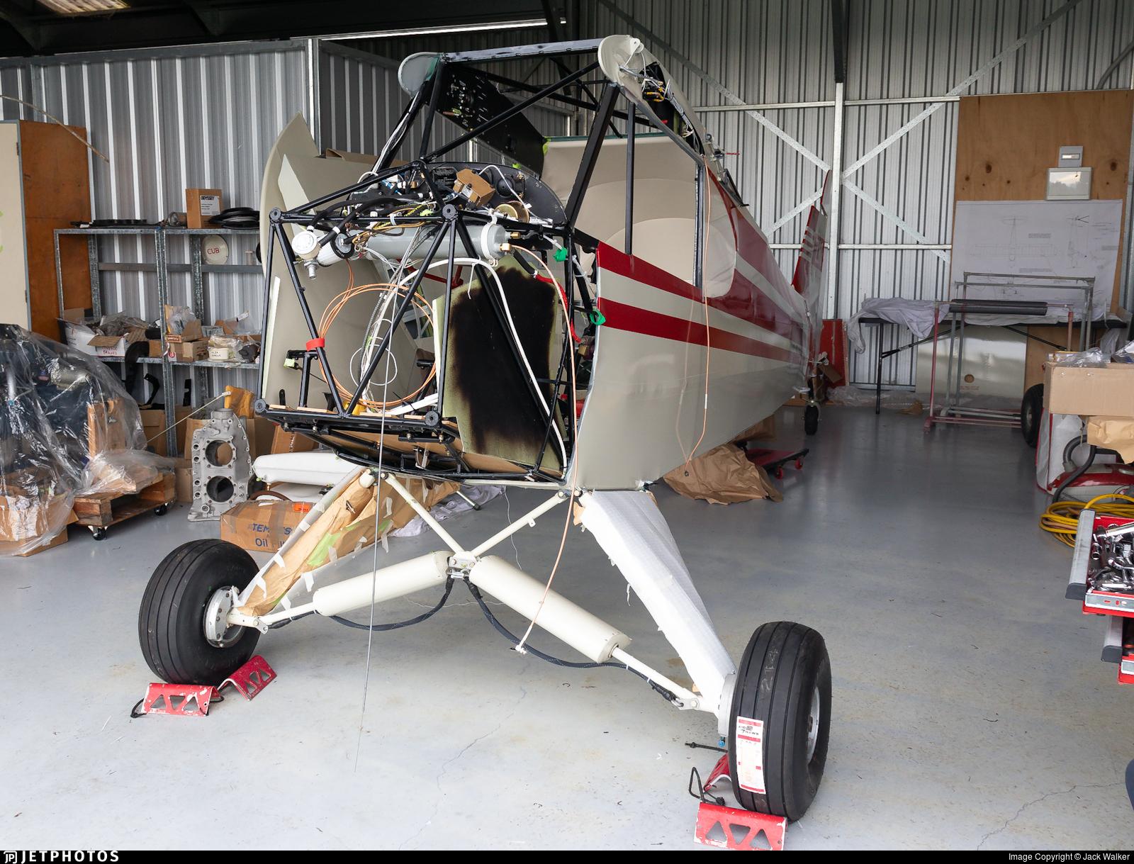 ZK-BTC - Piper L-4J Cub - Private