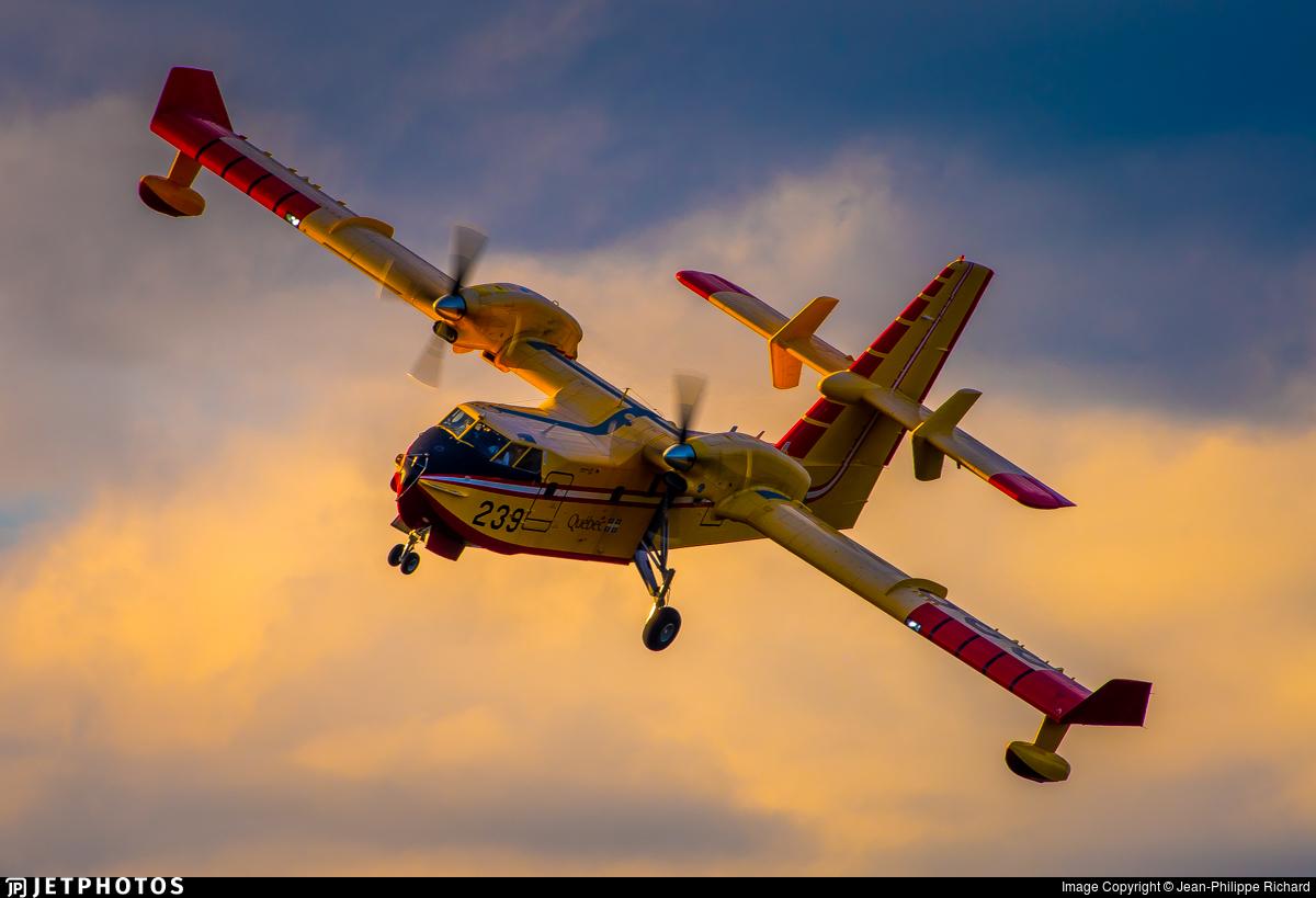 C-FAWQ - Canadair CL-215T - Canada - Quebec Service Aerien Gouvernemental