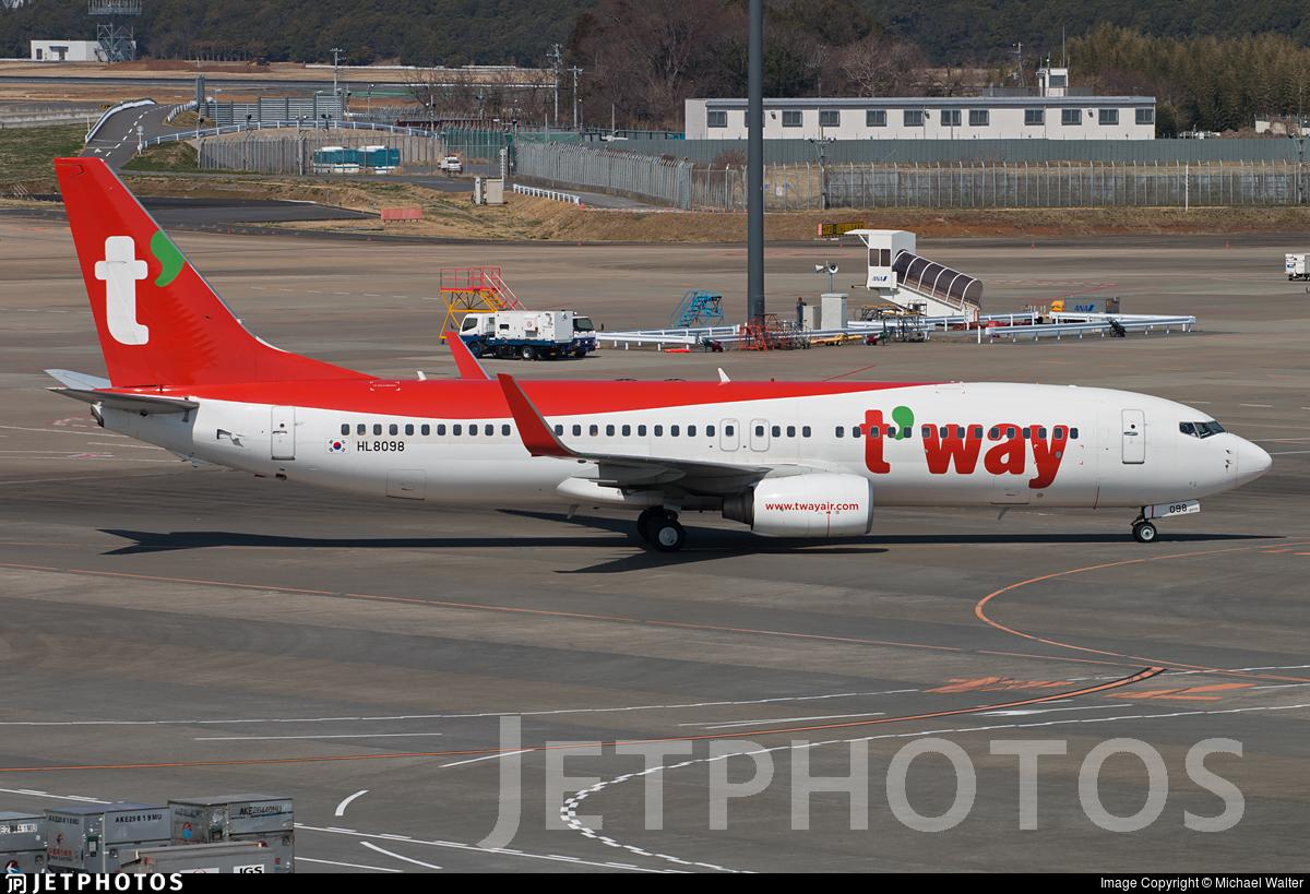 HL8098 - Boeing 737-8KN - T'Way Air