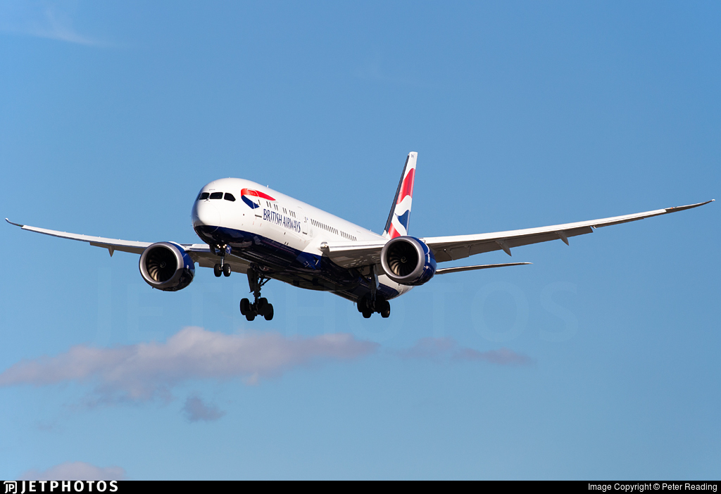 G-ZBKR - Boeing 787-9 Dreamliner - British Airways