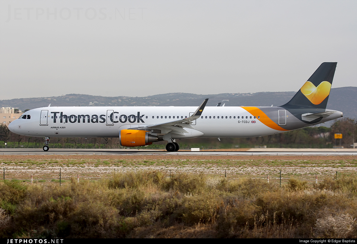 G-TCDJ - Airbus A321-211 - Thomas Cook Airlines