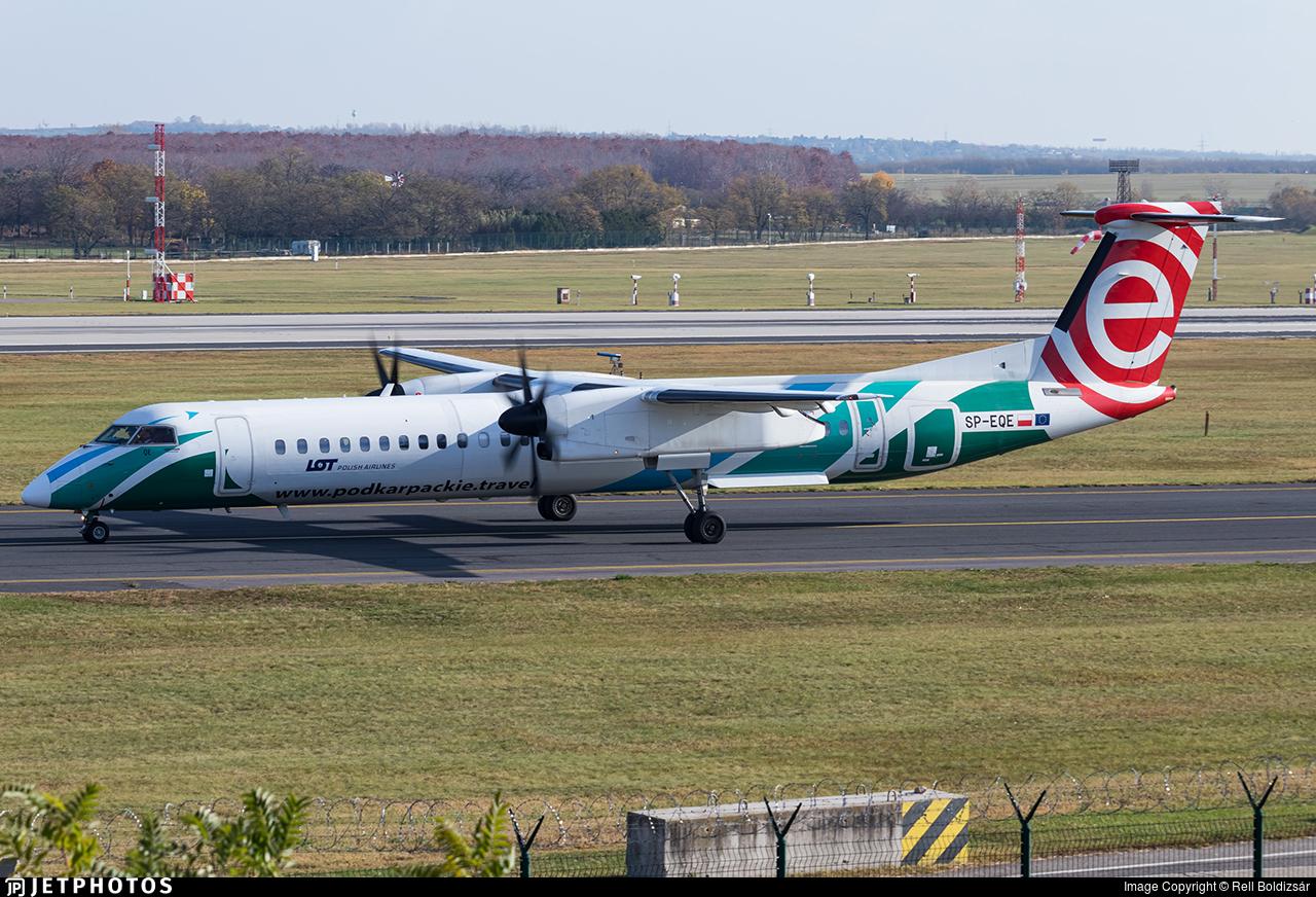 SP-EQE - Bombardier Dash 8-Q402 - LOT Polish Airlines