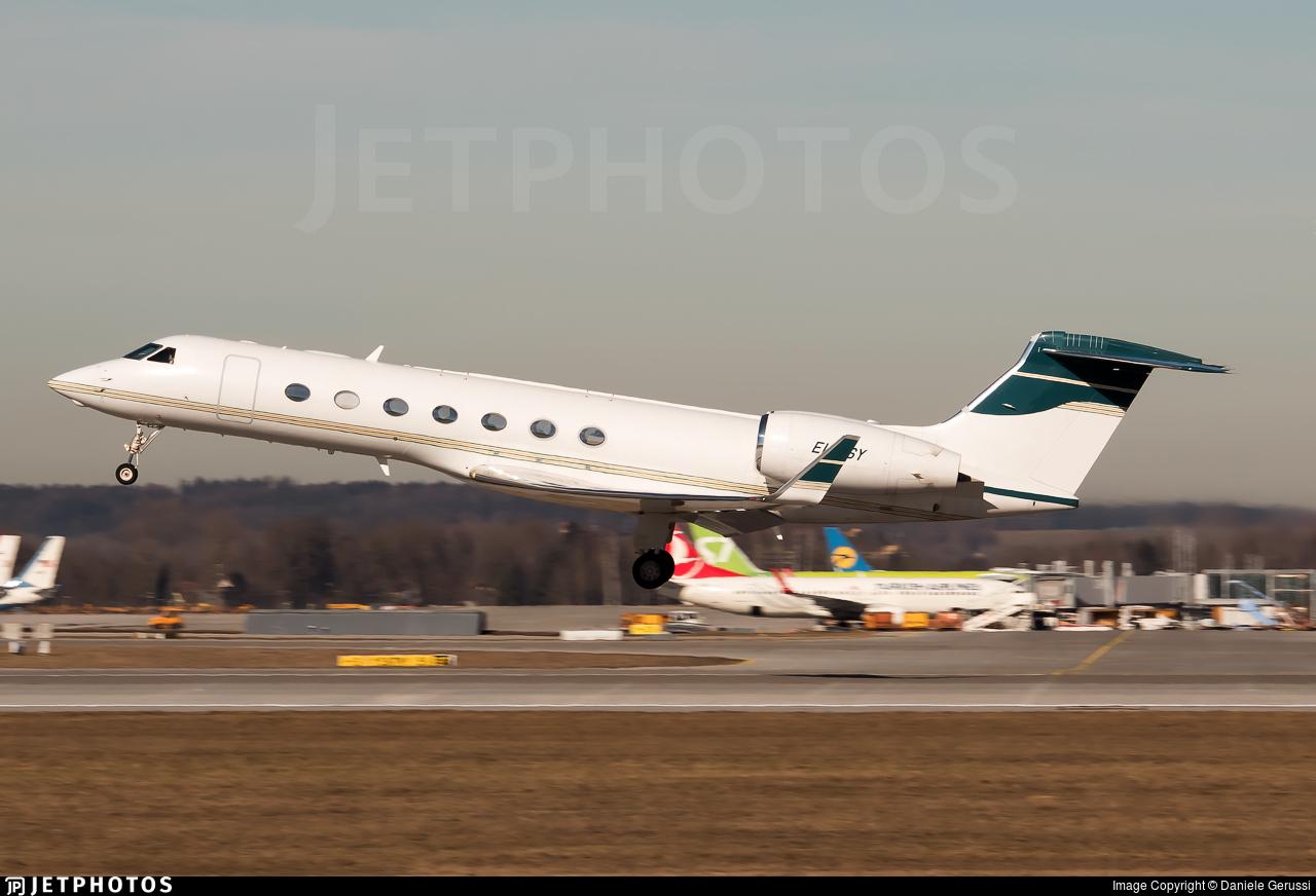 EI-LSY - Gulfstream G550 - Gainjet Ireland