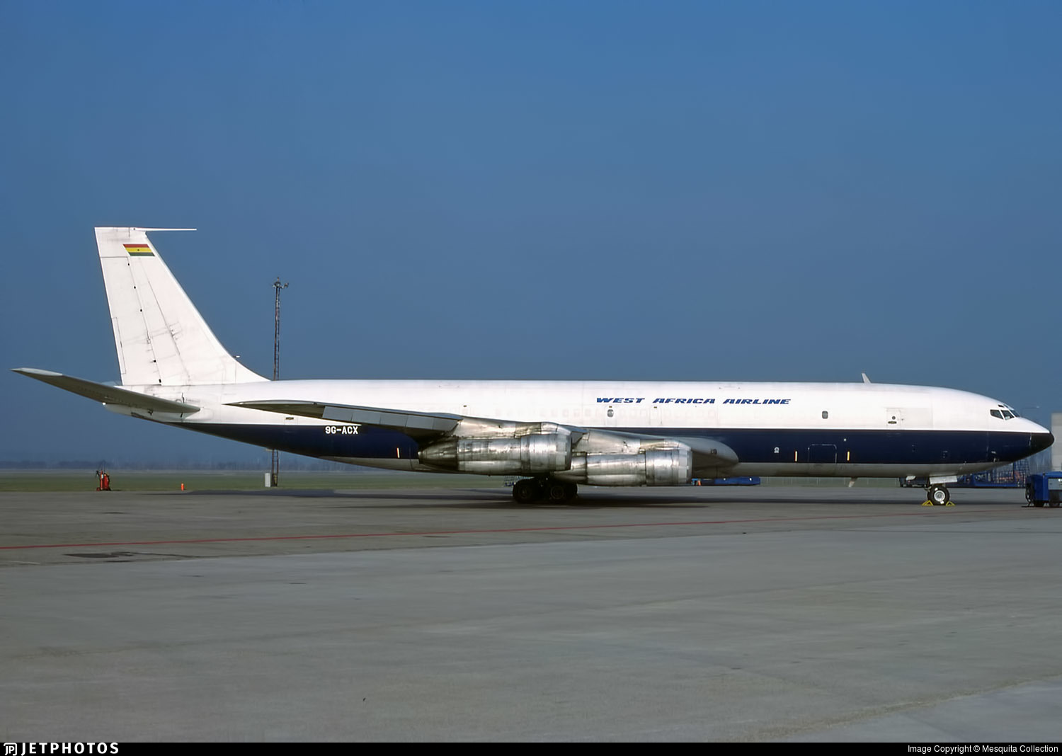 9G-ACX - Boeing 707-336C - West Africa Airline
