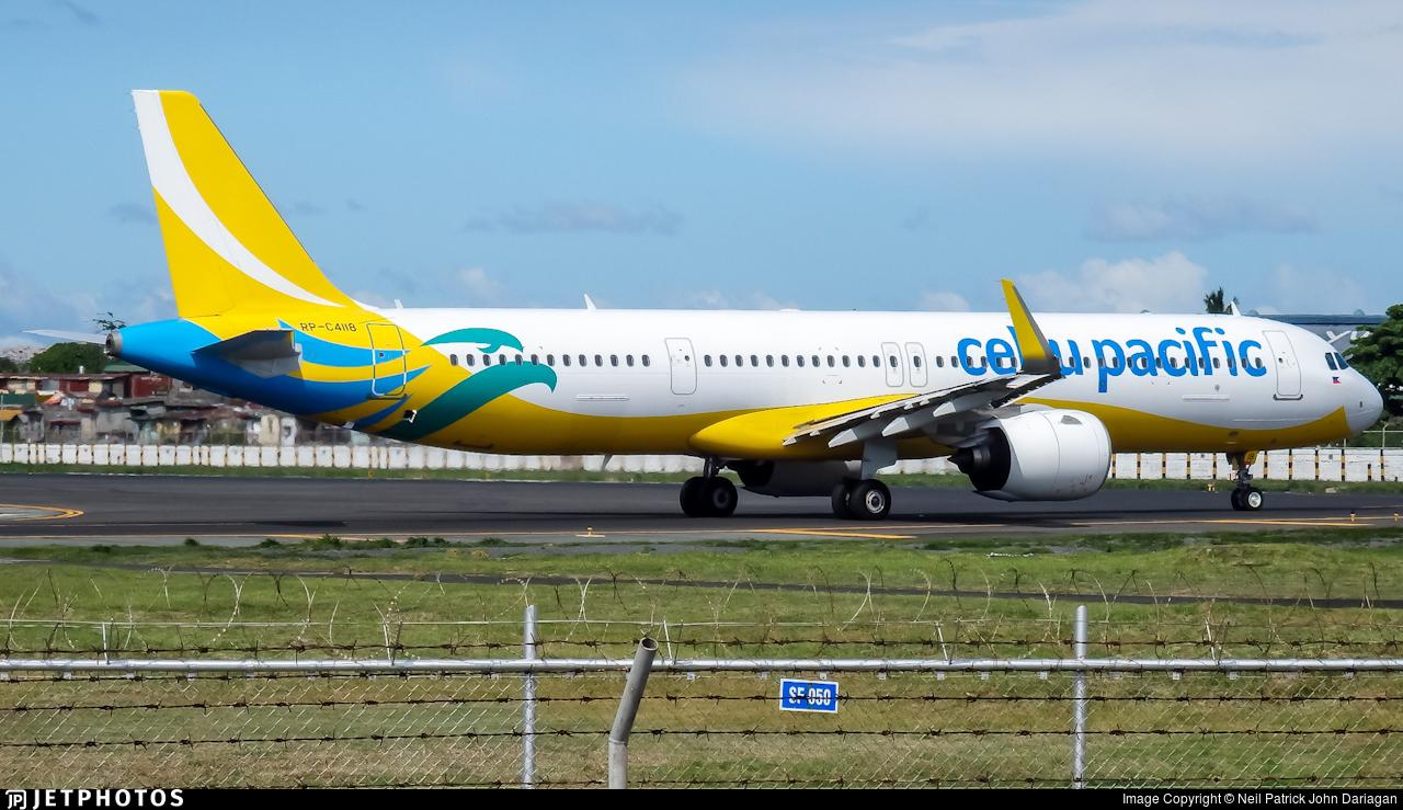 RP-C4118 - Airbus A321-271NX - Cebu Pacific Air