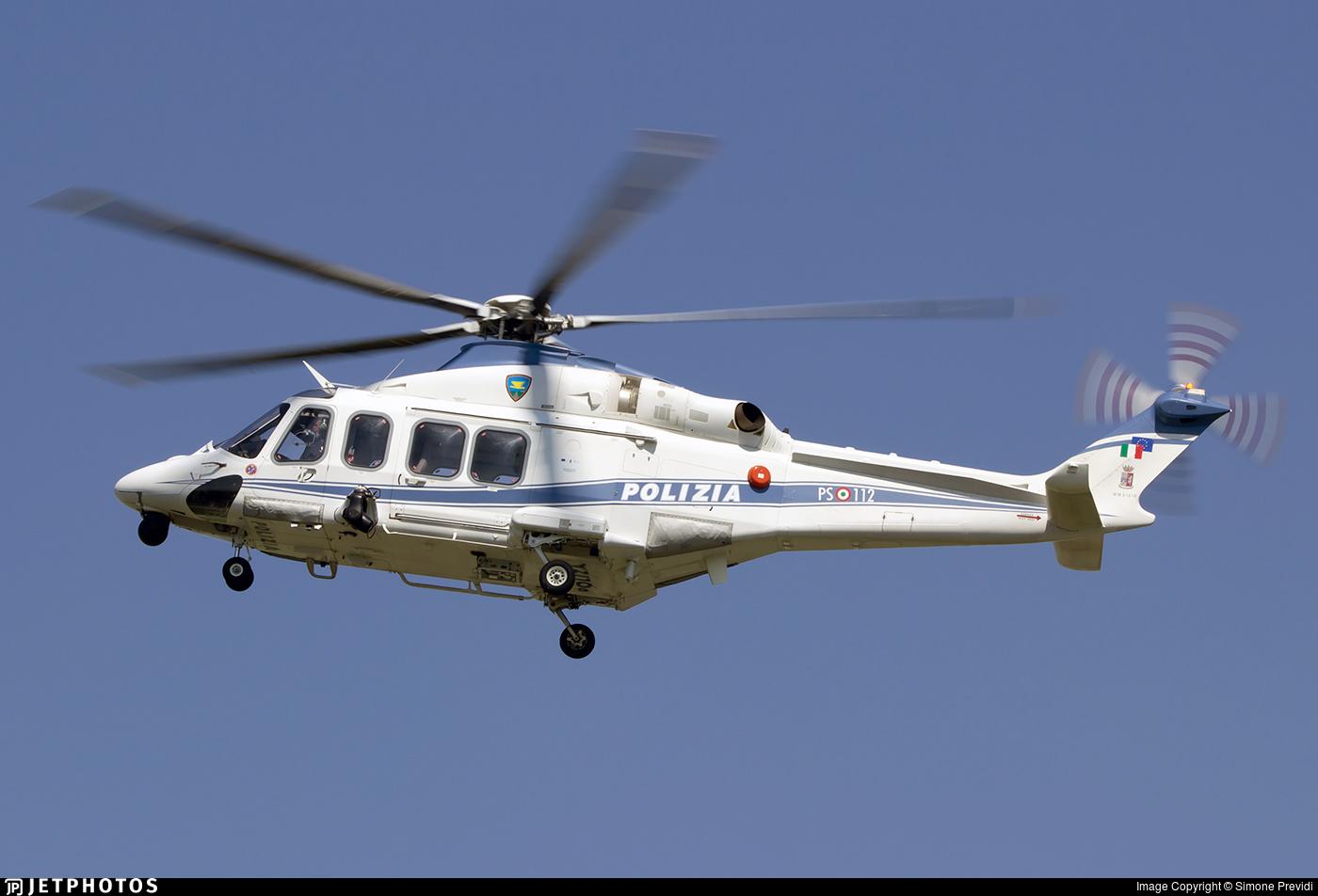 MM81819 - Agusta-Westland AW-139 - Italy - Polizia di Stato