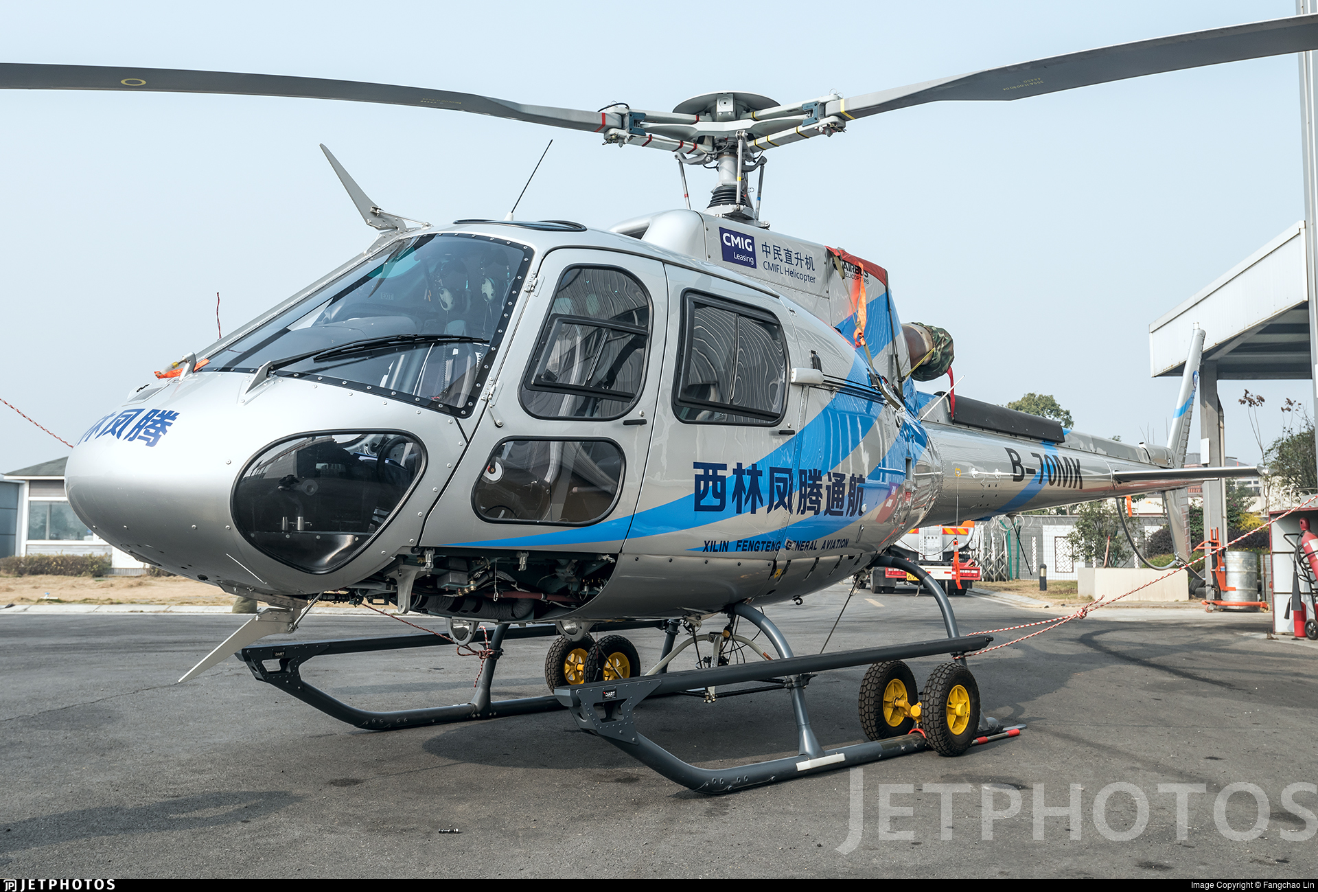 B-70MK - Eurocopter AS 350B3 Ecureuil - Sichuan Xiling Fengteng General Aviation