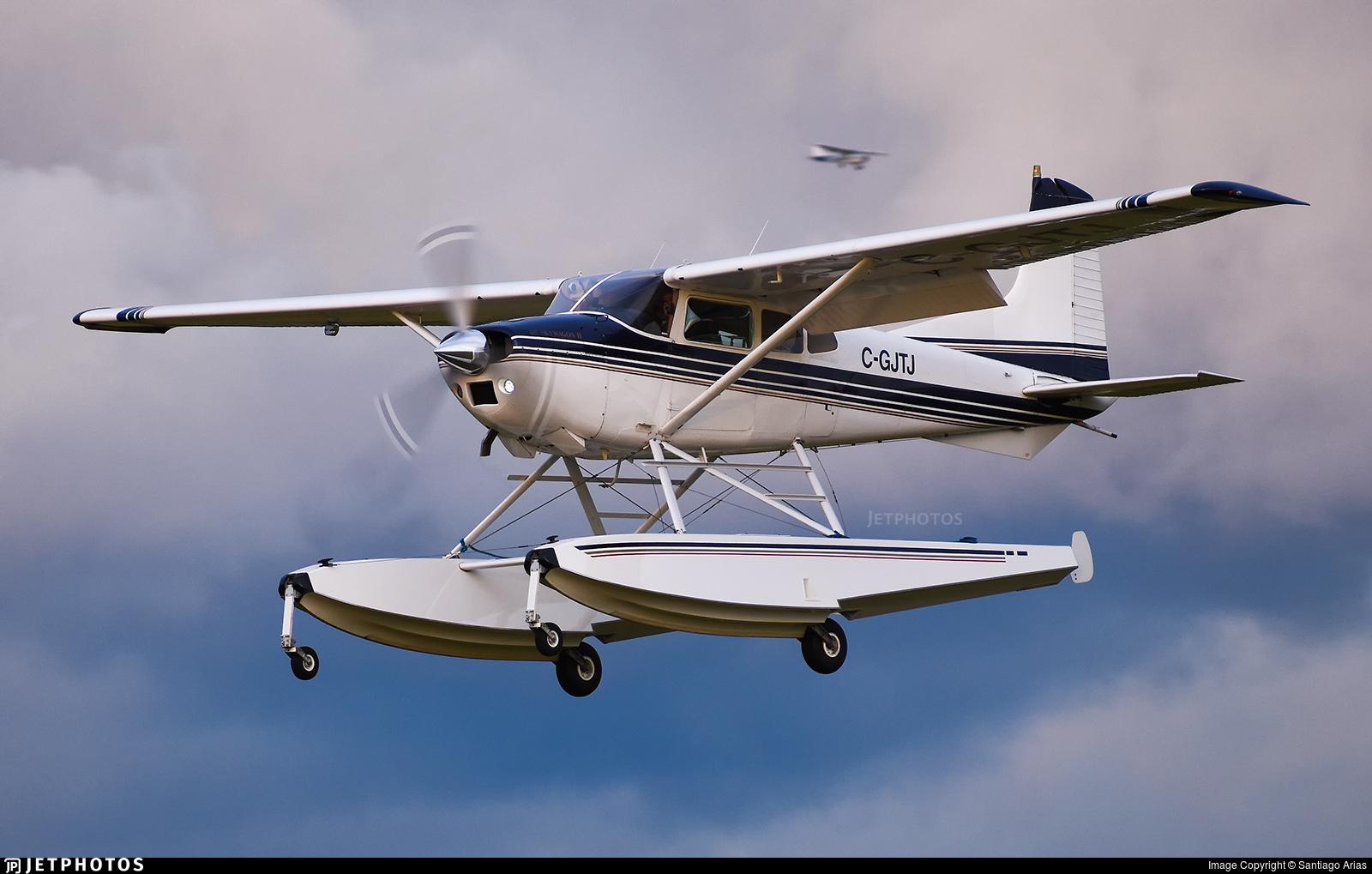 C-GJTJ - Cessna A185F Skywagon - Private