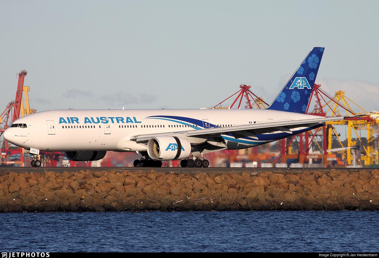 F-OPAR - Boeing 777-2Q8(ER) - Air Austral