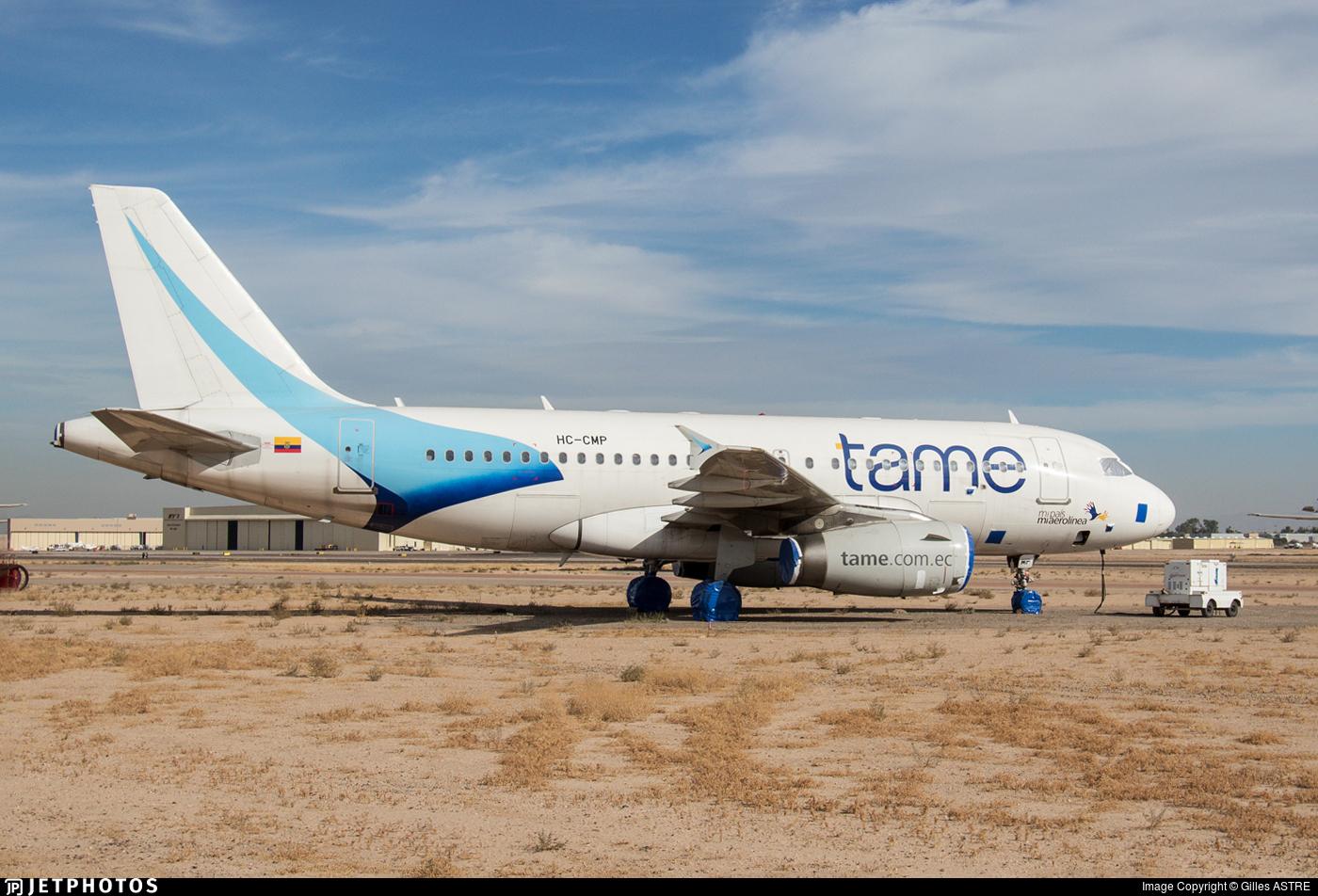HC-CMP - Airbus A319-132 - TAME Ecuador