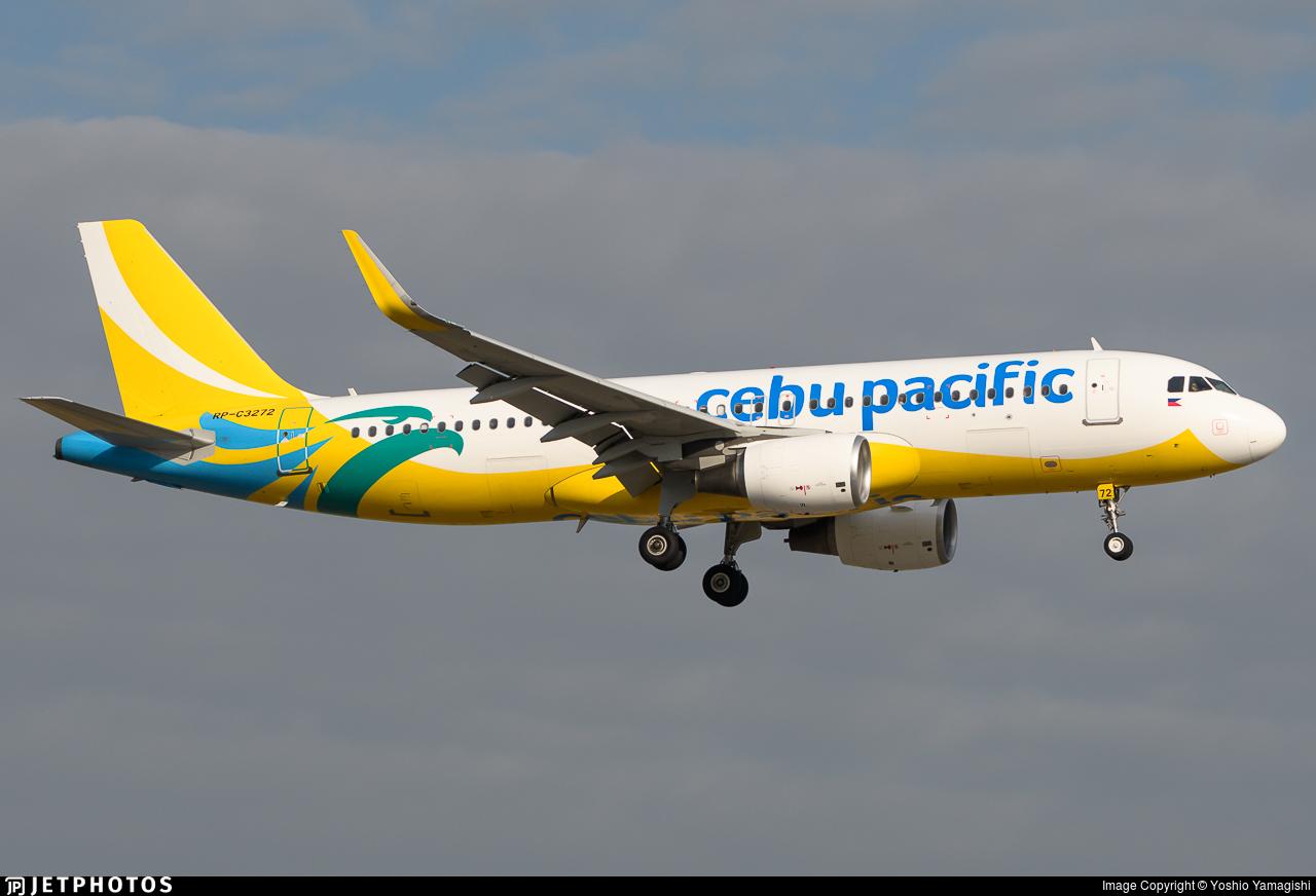 RP-C3272 - Airbus A320-214 - Cebu Pacific Air