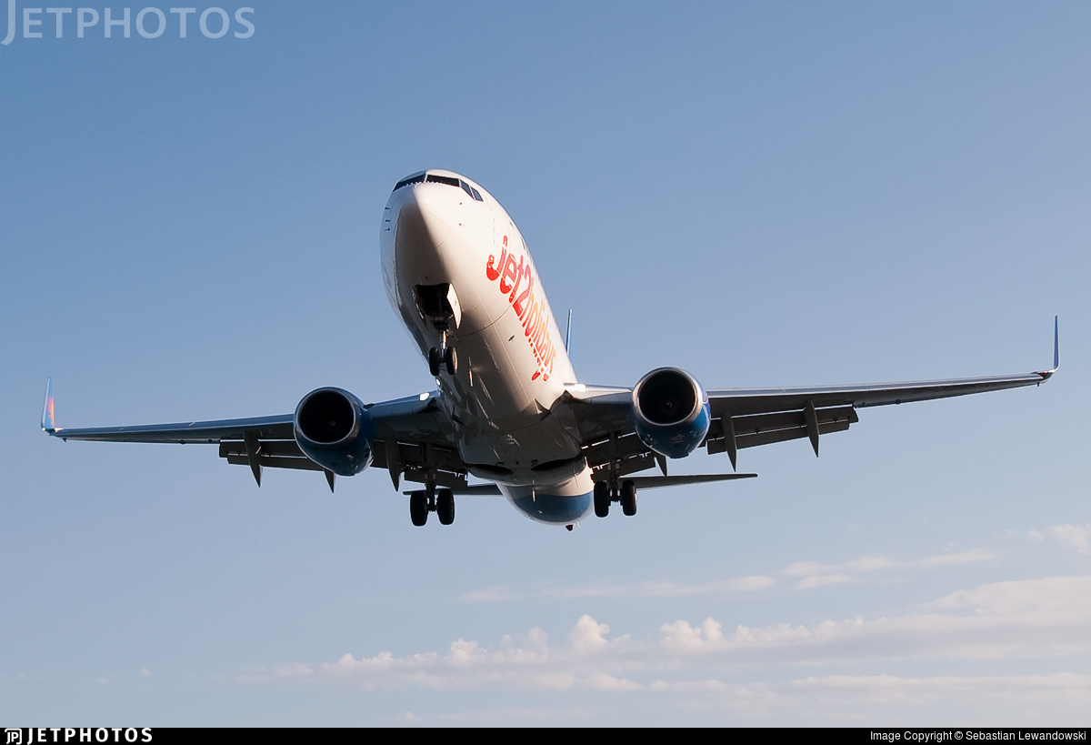 G-JZBF - Boeing 737-8MG - Jet2.com