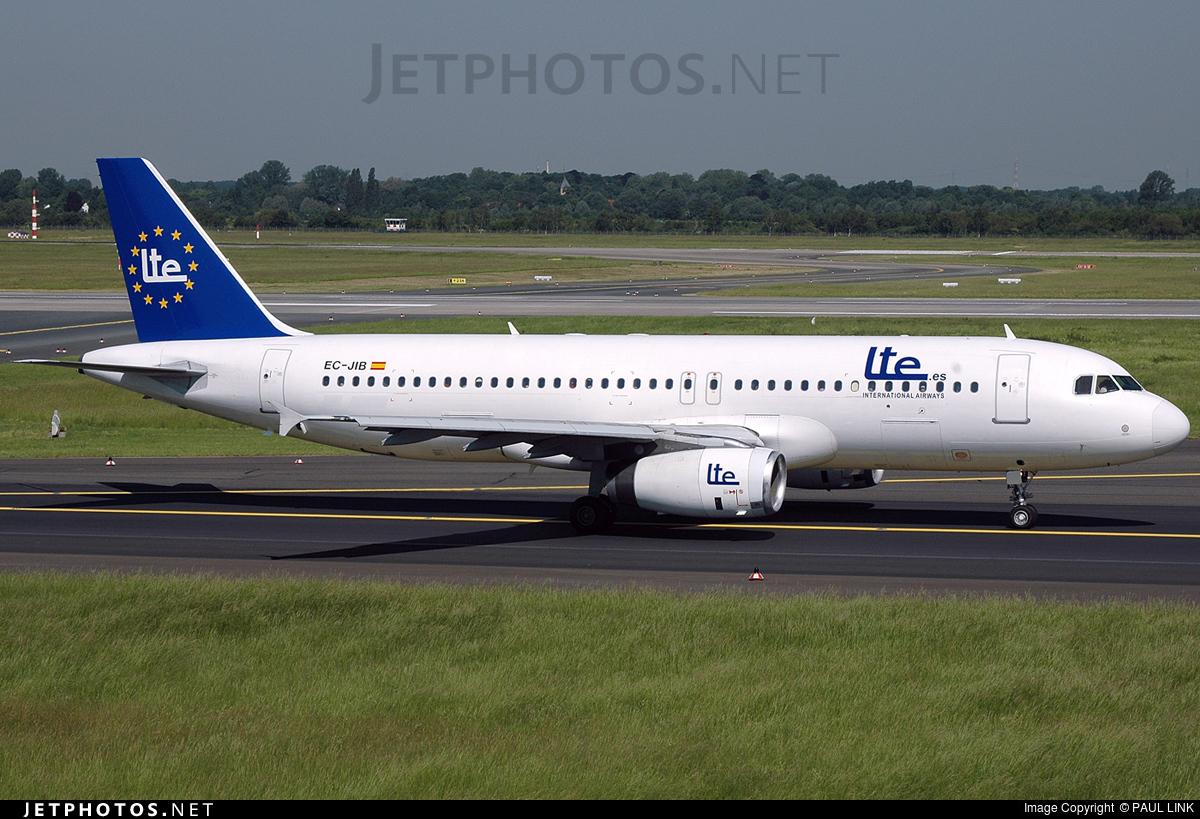 EC-JIB - Airbus A320-232 - LTE International Airways