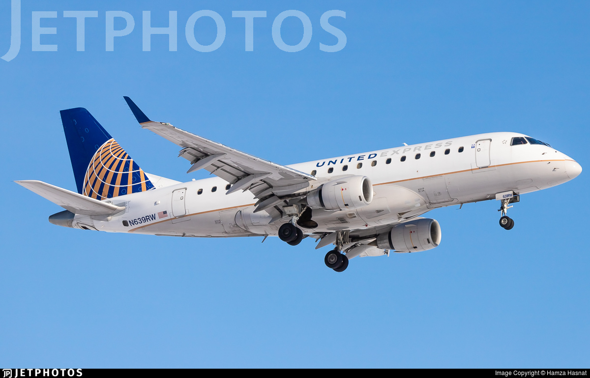 N639RW - Embraer 170-100SE - United Express (Republic Airlines)