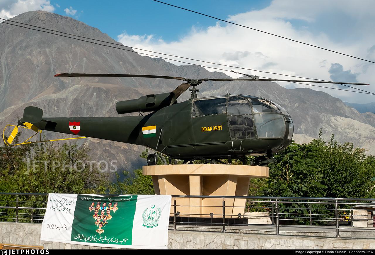 - Hindustan Aeronautics SA 316B Chetak - India - Army