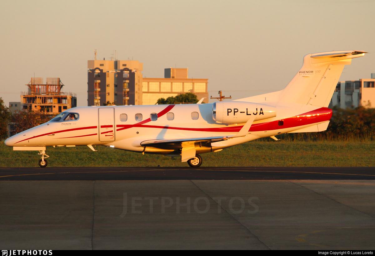 PP-LJA - Embraer 505 Phenom 300 - Private