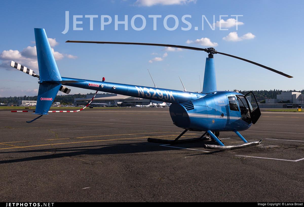 N329JK - Robinson R44 Clipper II - Private