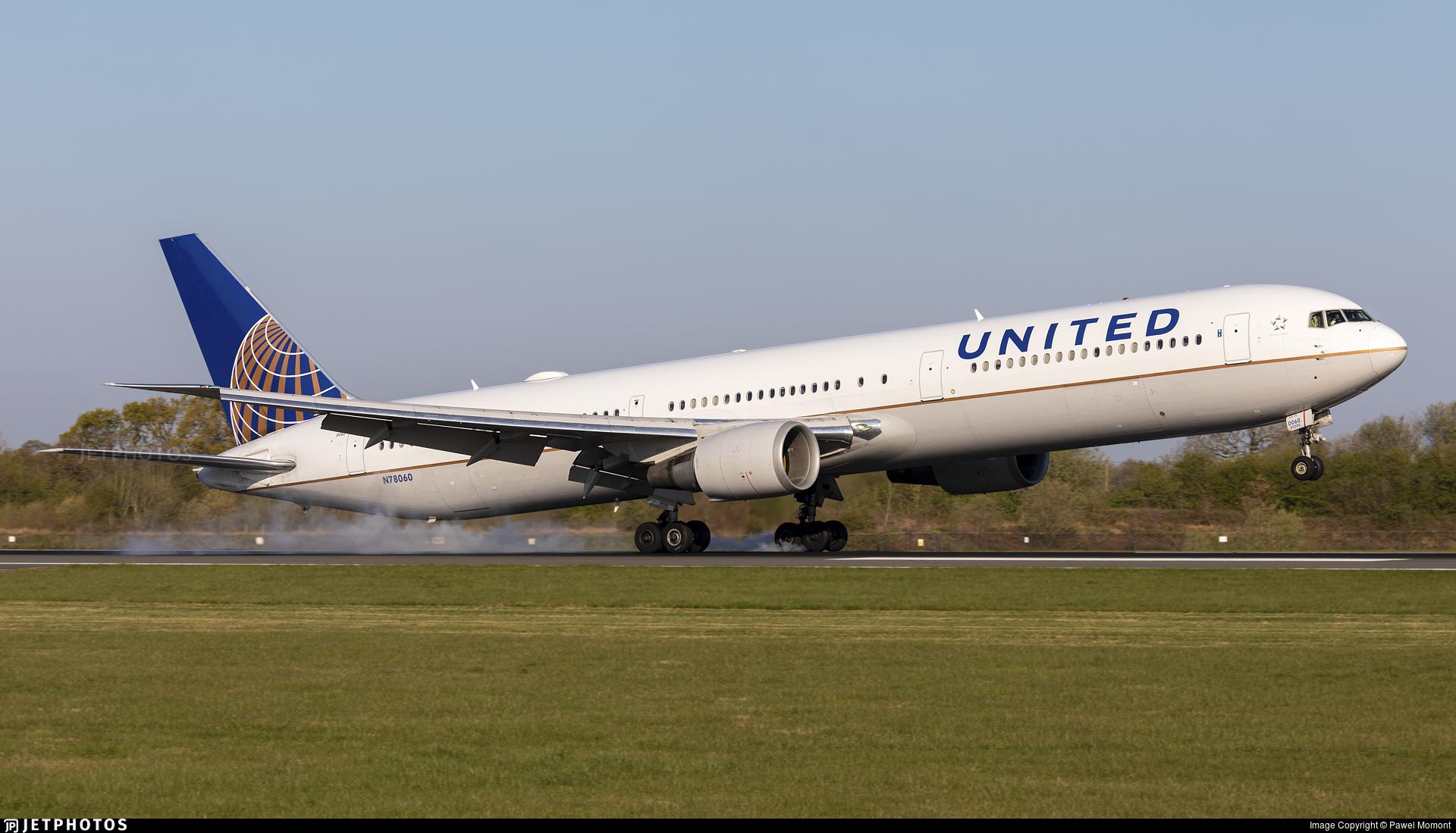 N78060 - Boeing 767-424(ER) - United Airlines