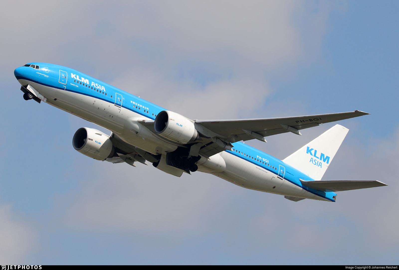 PH-BQI - Boeing 777-206(ER) - KLM Asia