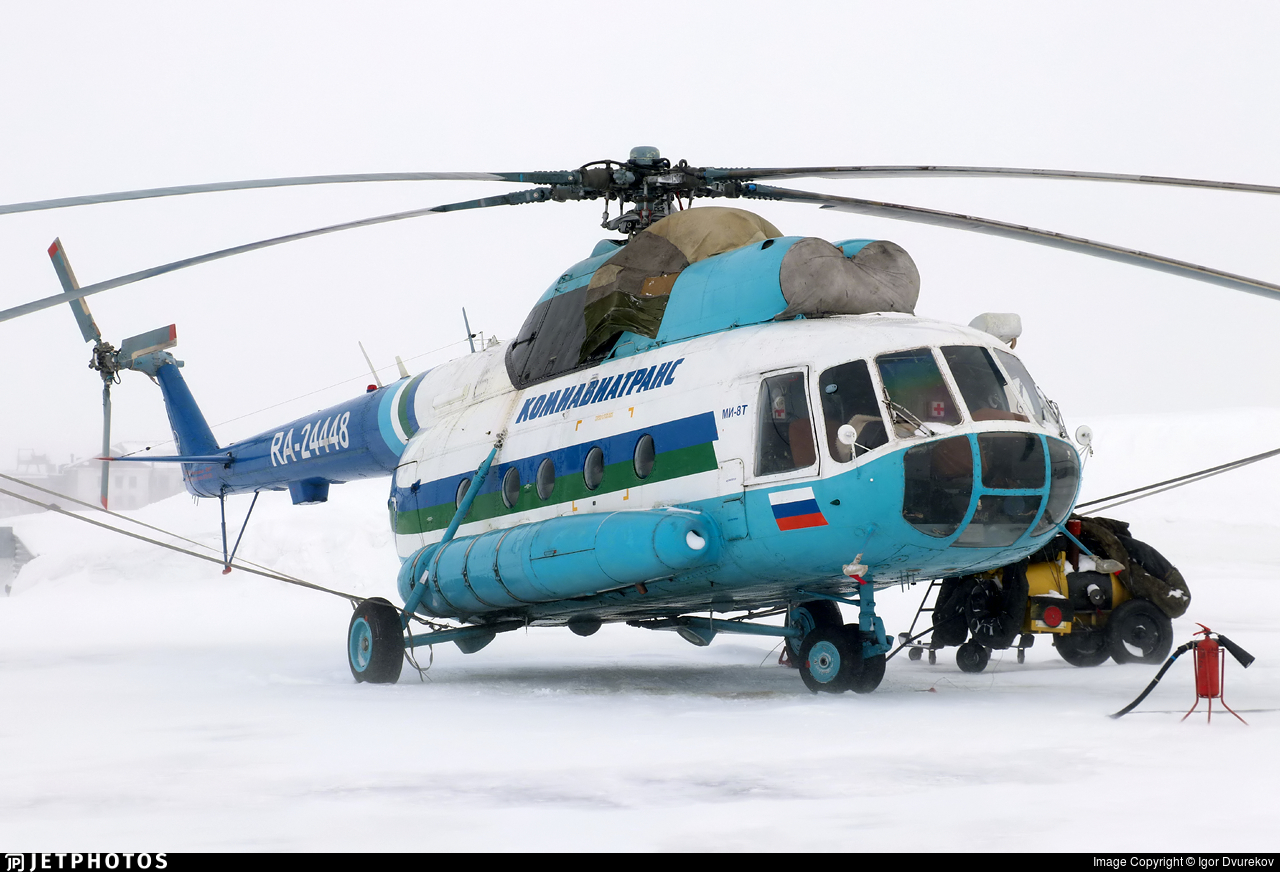 RA-24448 - Mil Mi-8T Hip - Komiaviatrans