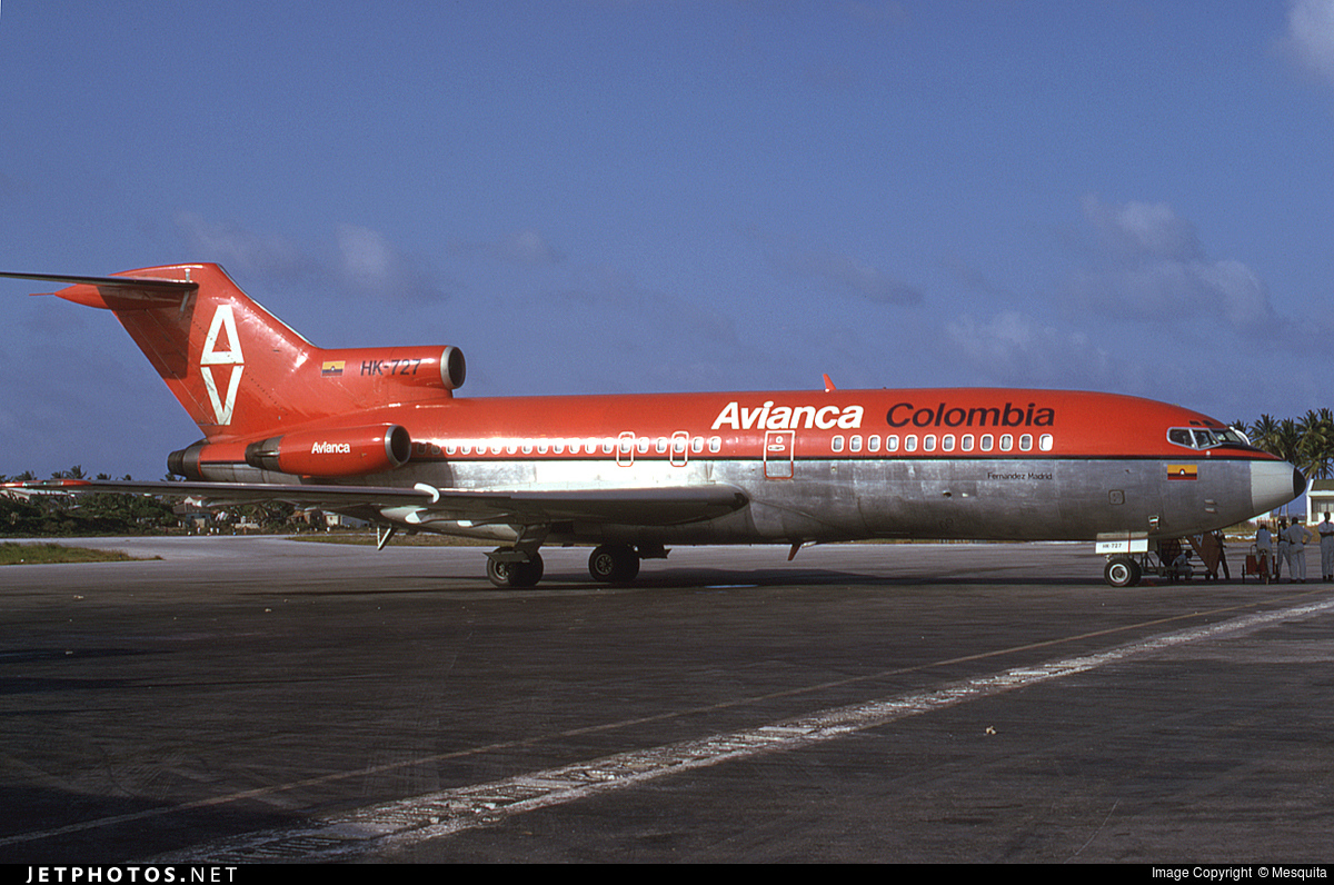 HK-727 - Boeing 727-59 - Avianca
