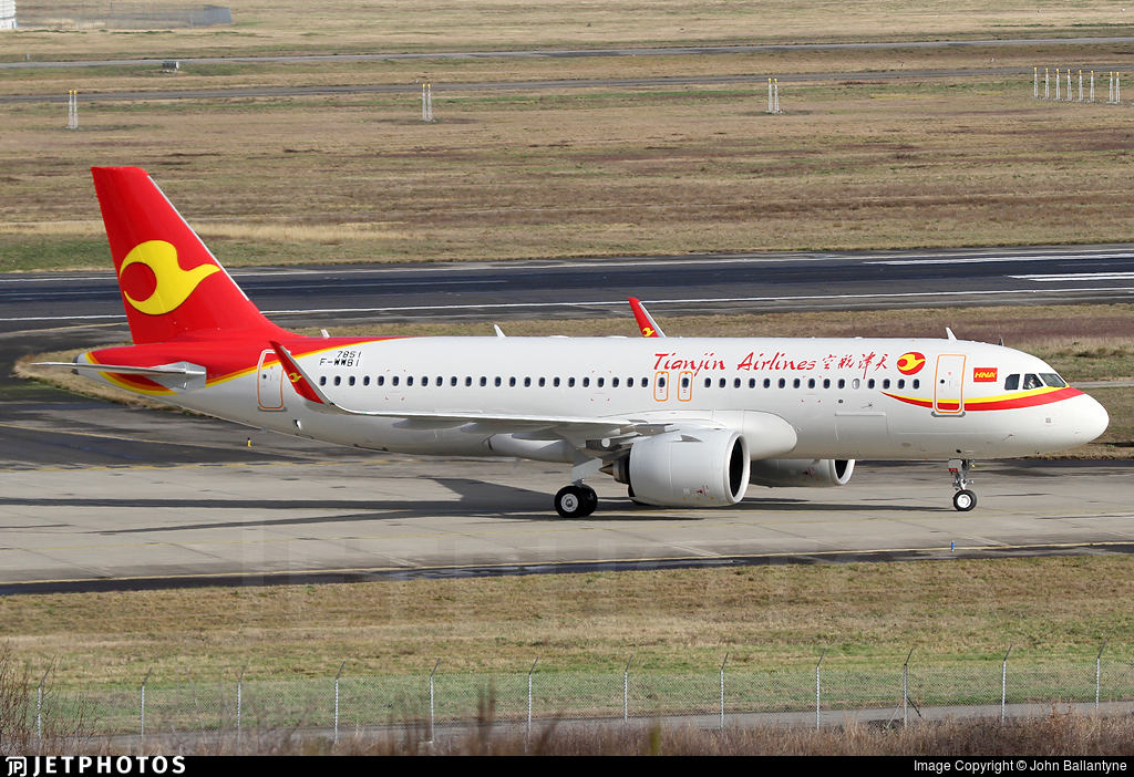 F-WWBI - Airbus A320-271N - Tianjin Airlines