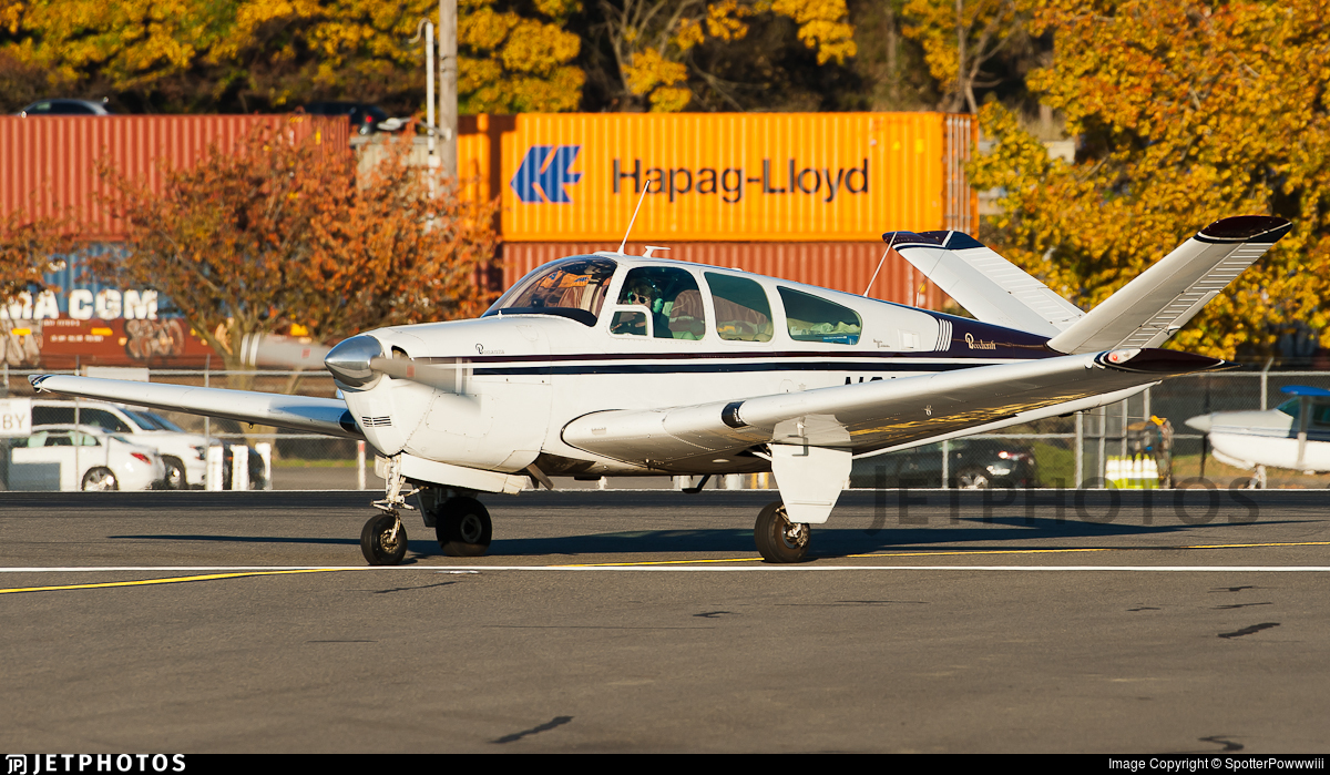 N3180V - Beechcraft 35 Bonanza - Private