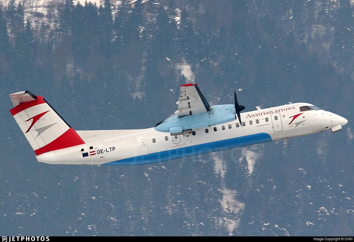 OE-LTP - Bombardier Dash 8-Q314 - Austrian Arrows