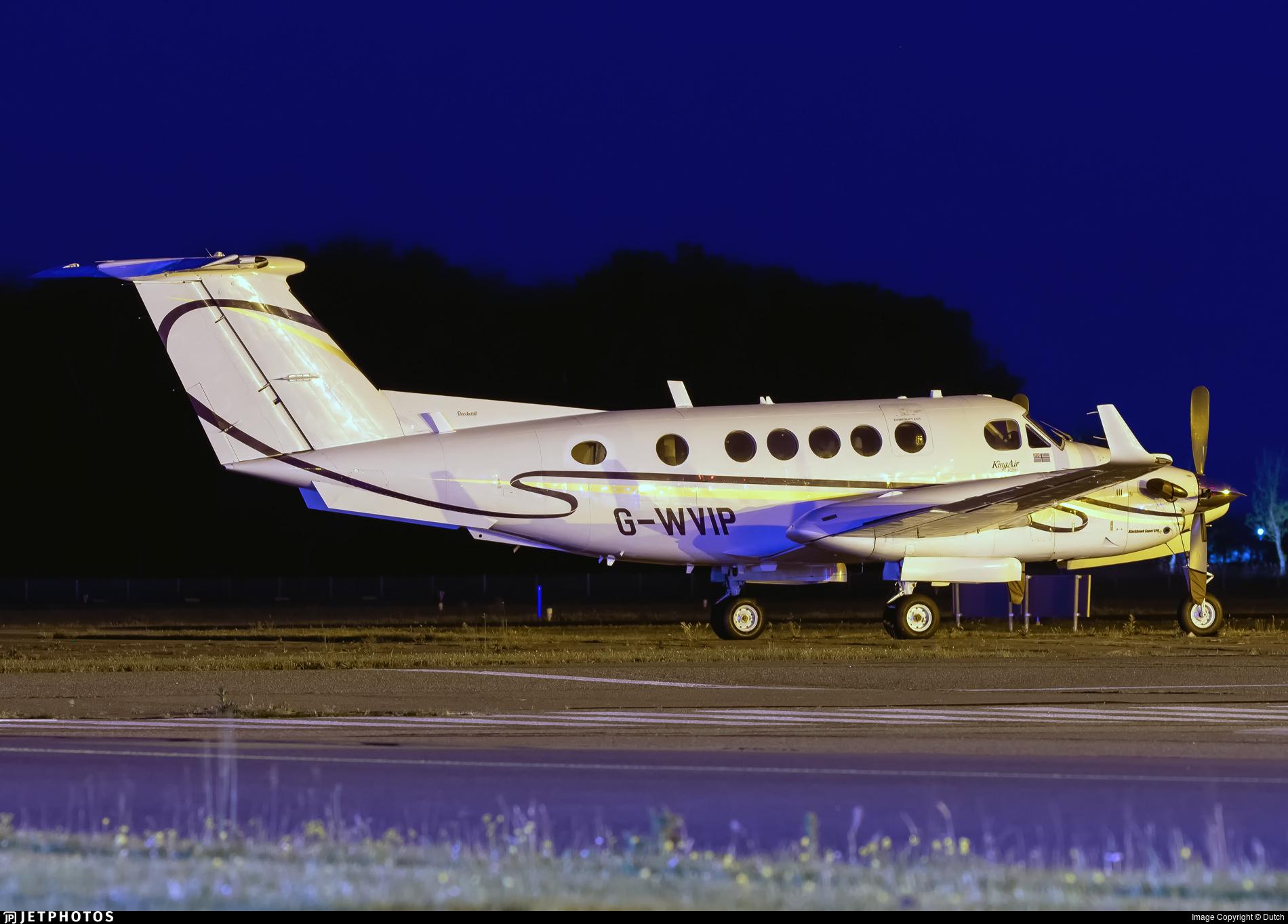 G-WVIP - Beechcraft 200 Super King Air - Capital Aviation