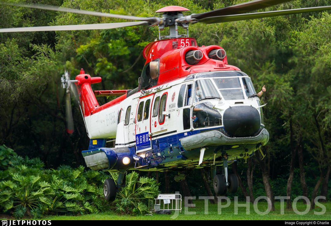 B-7955 - Eurocopter AS 332L Super Puma - China Offshore Helicopter Service Corporation (COHC)