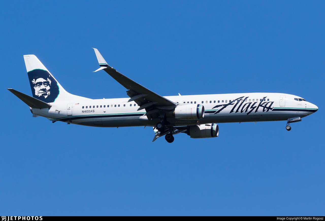 N402AS - Boeing 737-990ER - Alaska Airlines