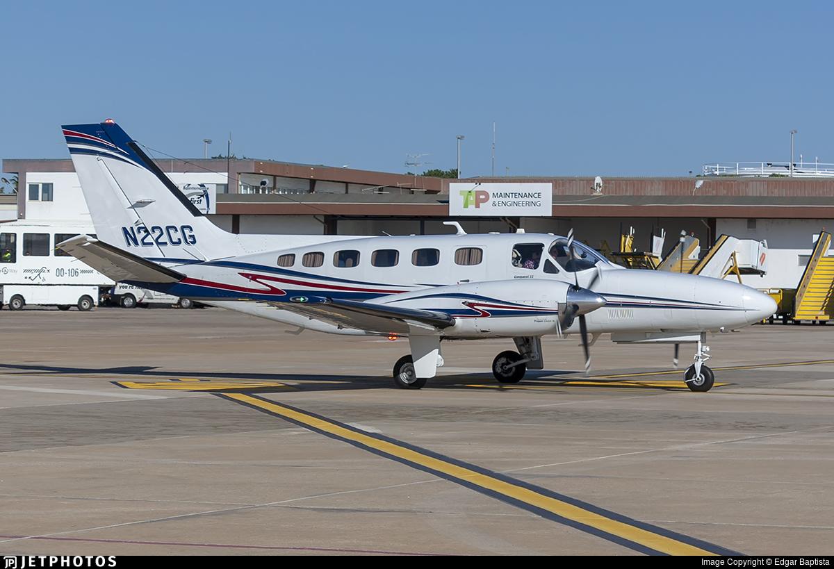 N22CG - Cessna 441 Conquest II - Private