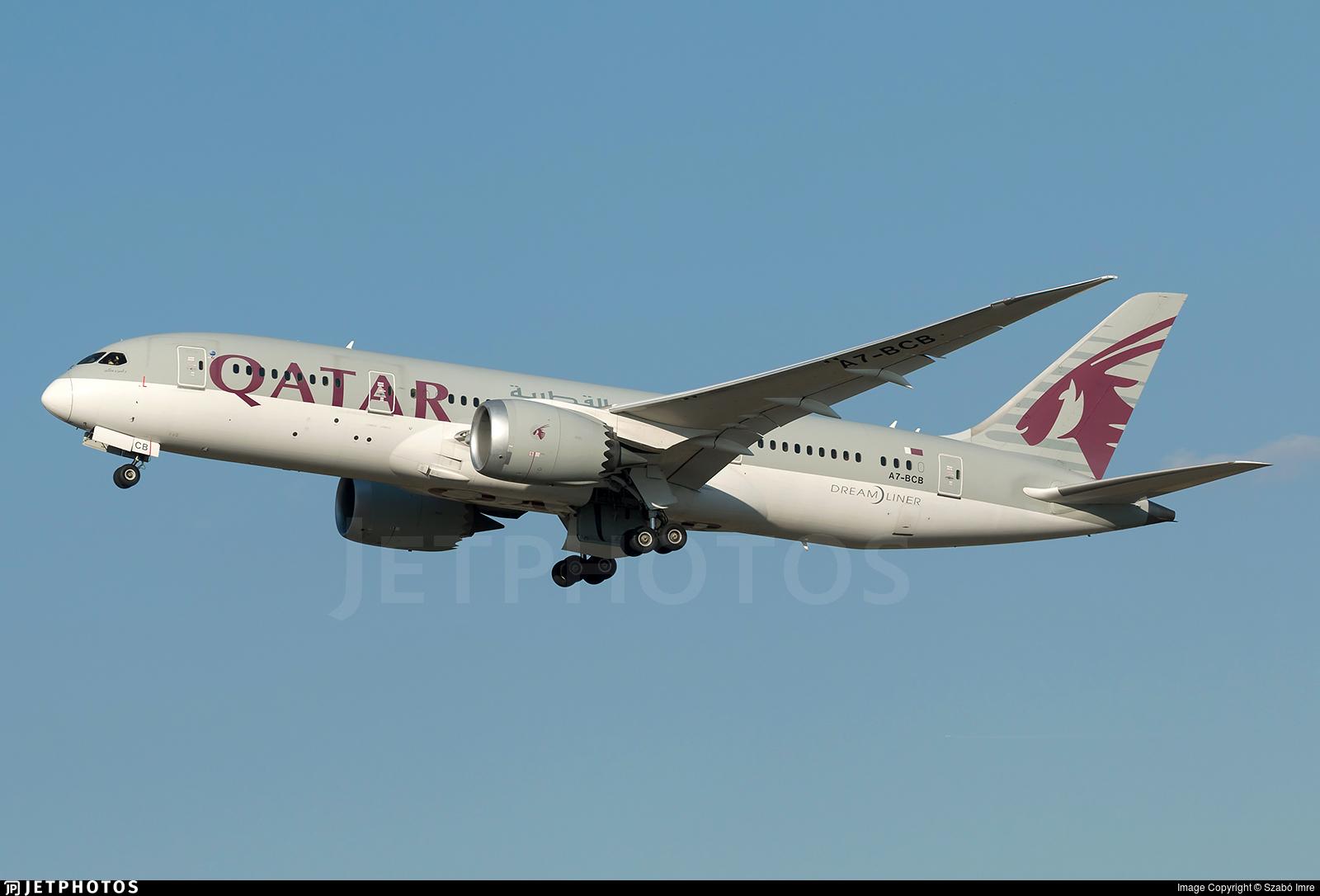 A7-BCB - Boeing 787-8 Dreamliner - Qatar Airways